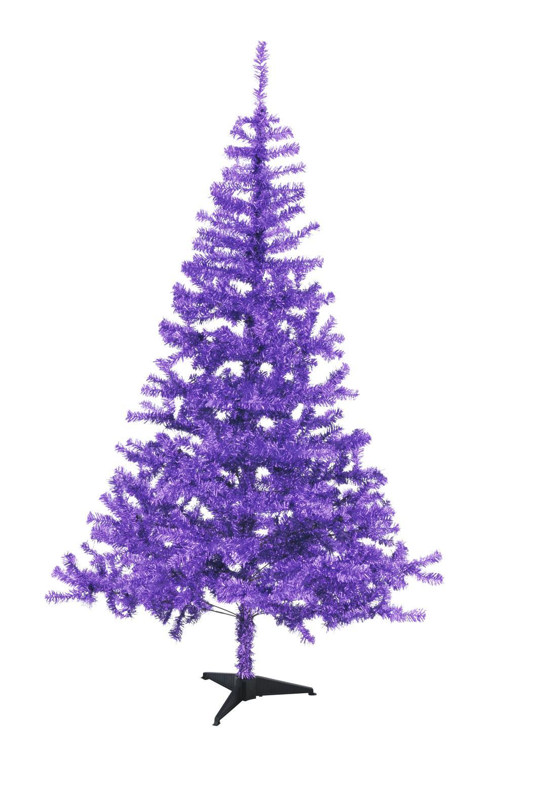 Artificial plants Christmas Christmas Fir Purple EUROPALMS 240cm