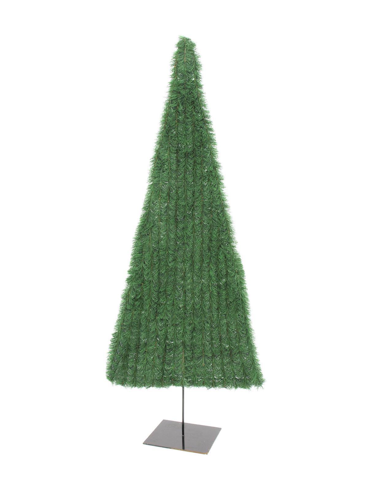 EUROPALMS pianta artificiale Abete, piatto, verde chiaro, 120cm