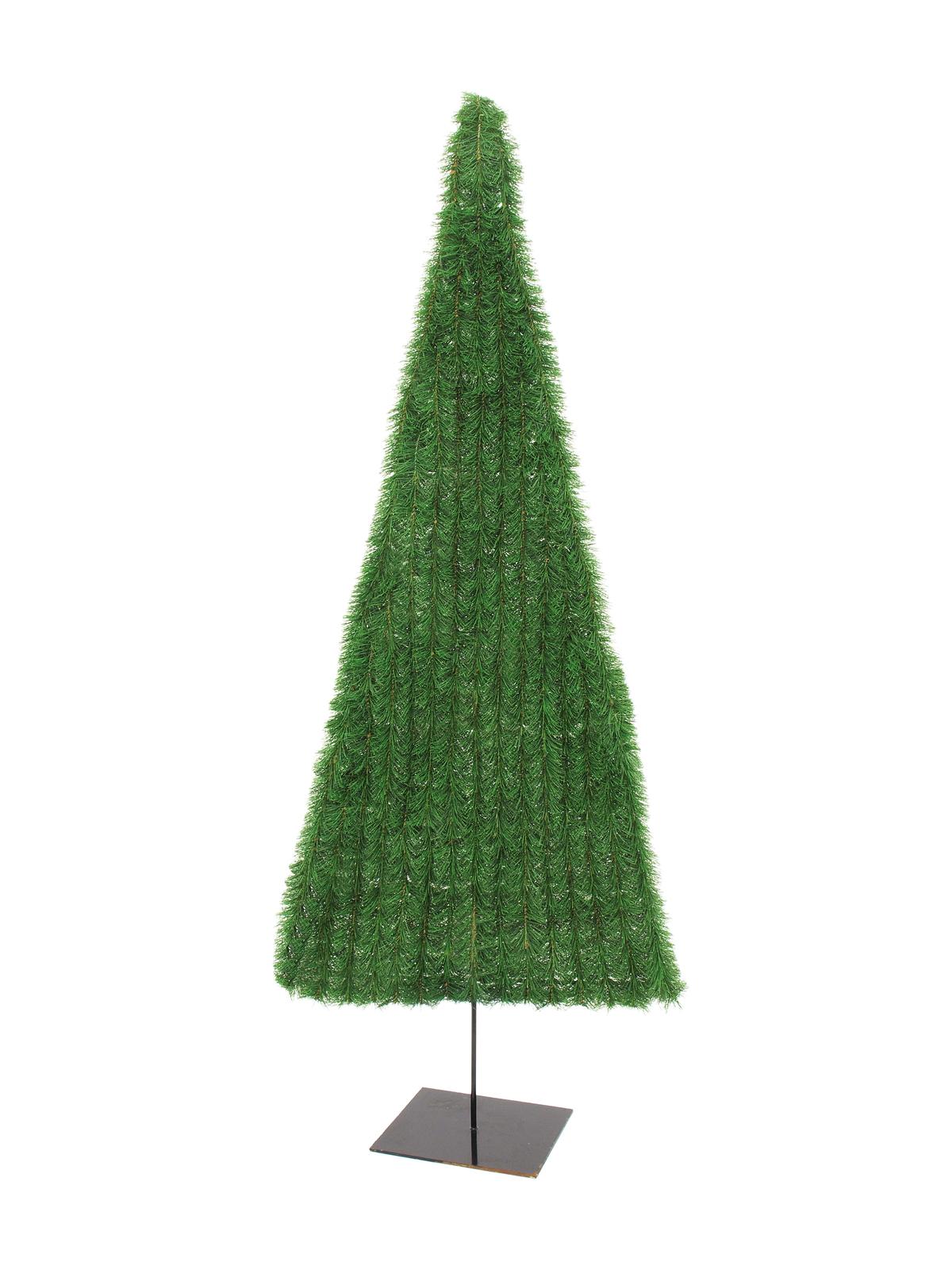EUROPALMS Tannenbaum, flach, grün, 120cm