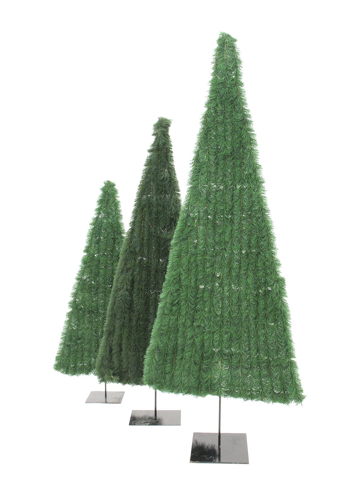 EUROPALMS Abete, piatto, verde, 150cm