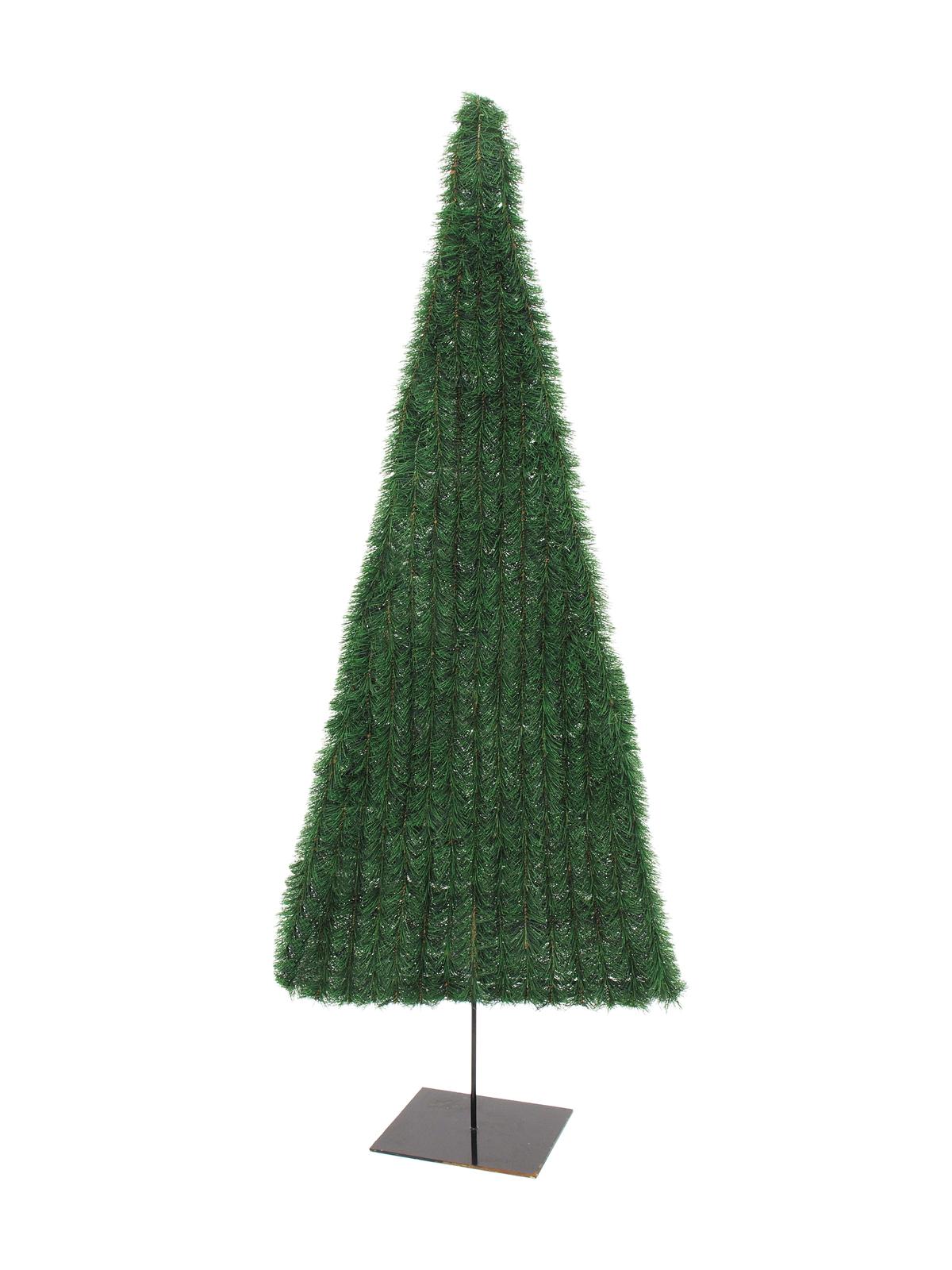 EUROPALMS Tannenbaum, flach, dunkelgrün, 150cm