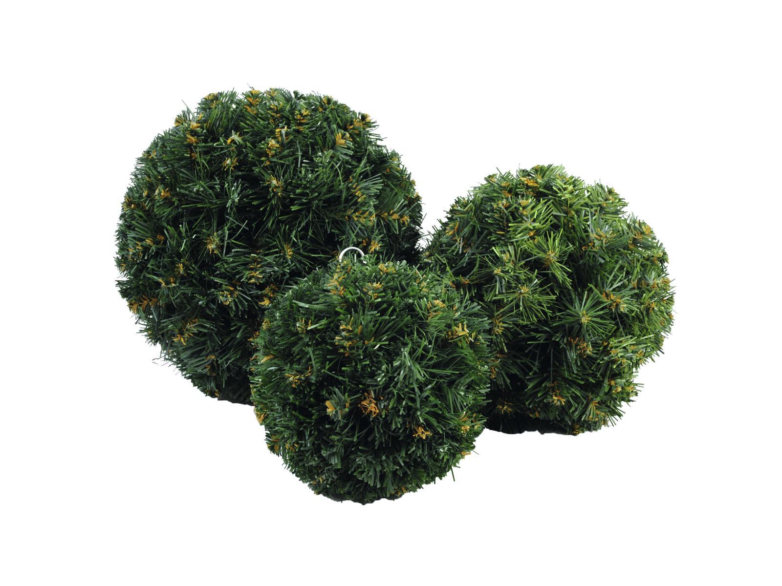 EUROPALMS di Natale, palla, verde, 20cm