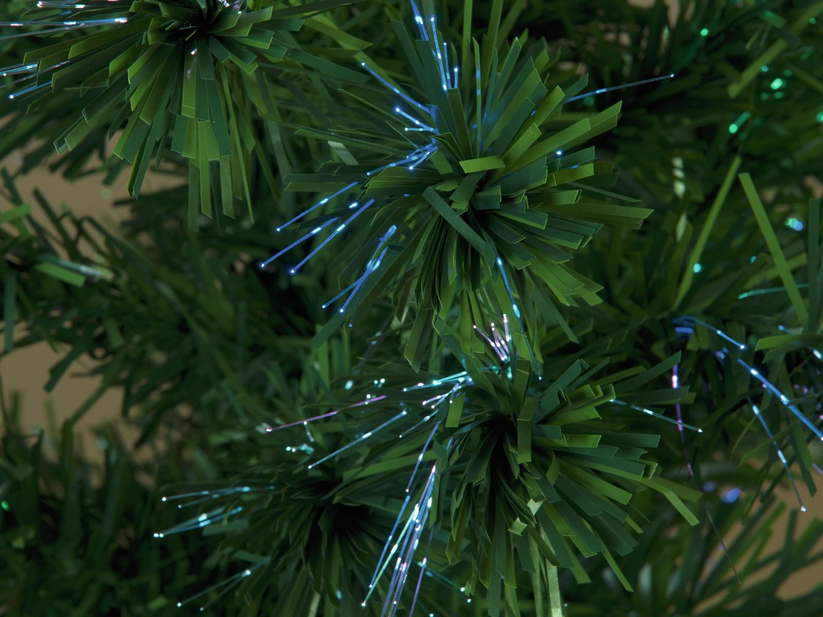 EUROPALMS albero di Natale in Fibra LED, 180 cm, verde