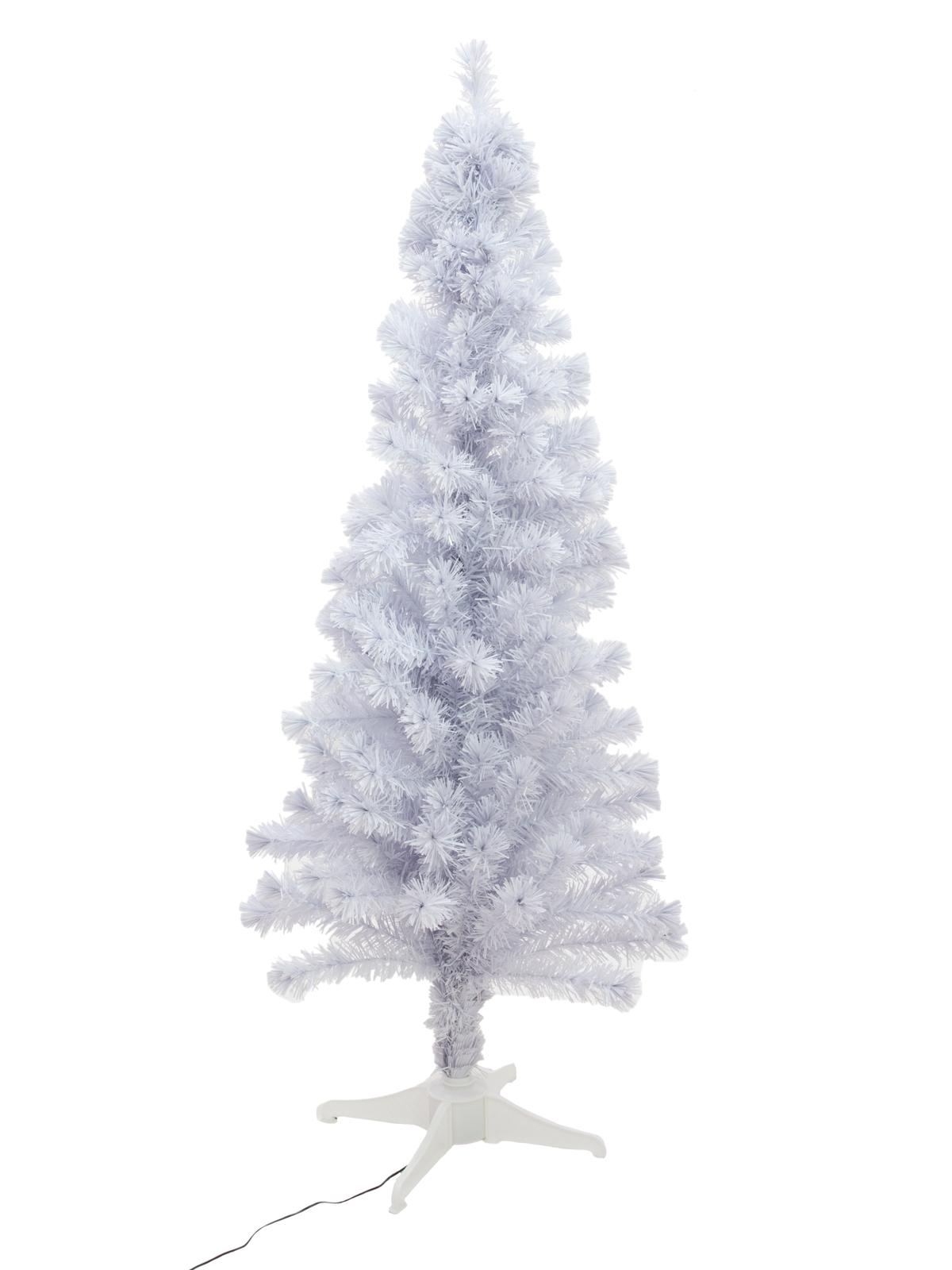 EUROPALMS albero di Natale in Fibra LED, 180 cm, bianco