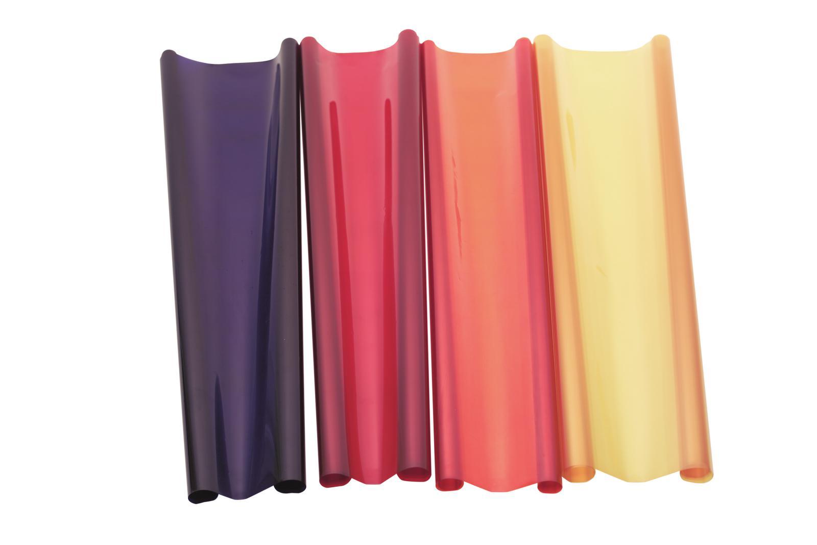 Gelatina Rotolo Filtro Per Tubo neon 164 122x100cm rosso fuoco Eurolite