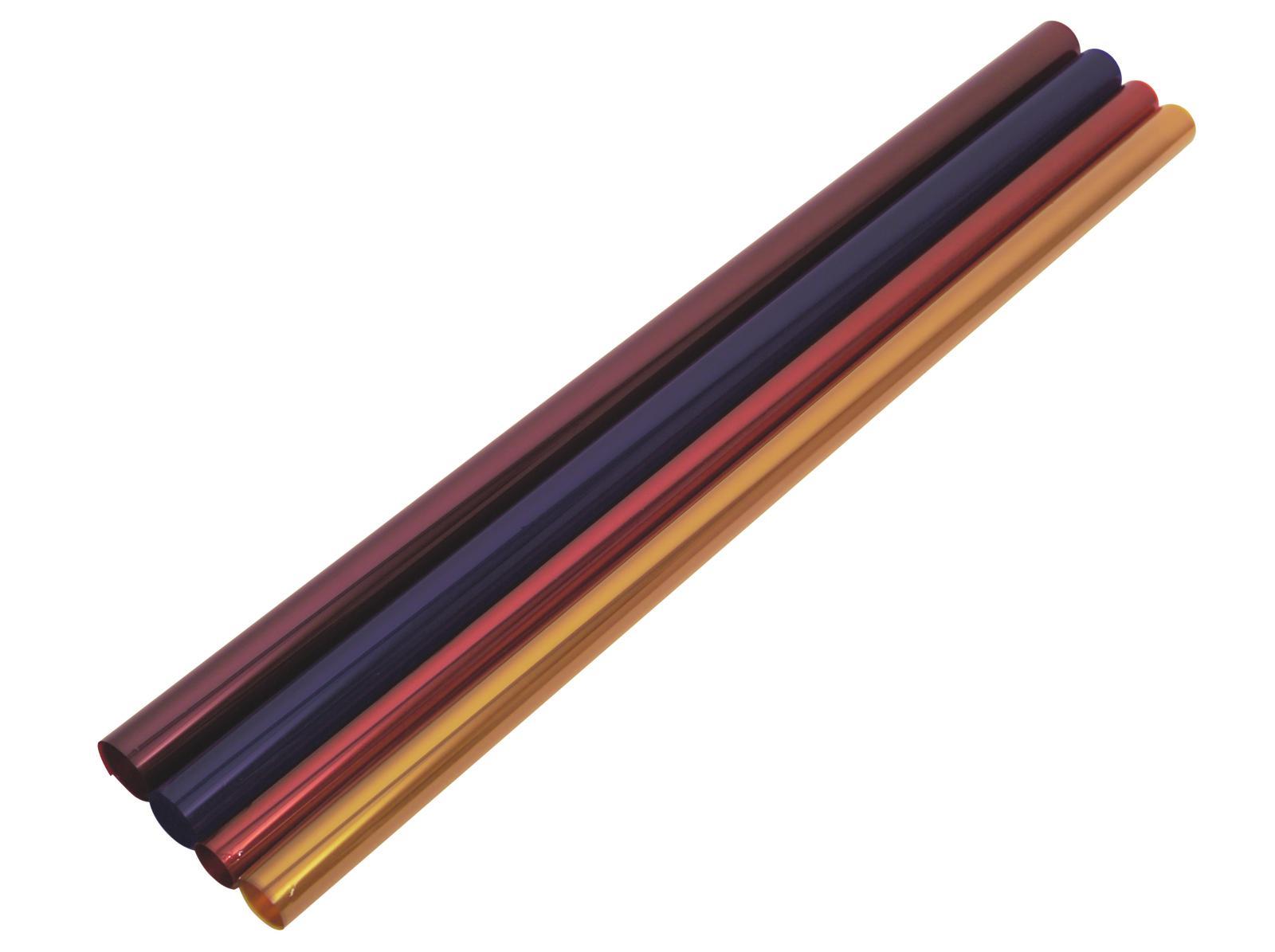 Gelatina Rotolo Filtro Per Tubo neon 165 122x100cm blu chiaro Eurolite