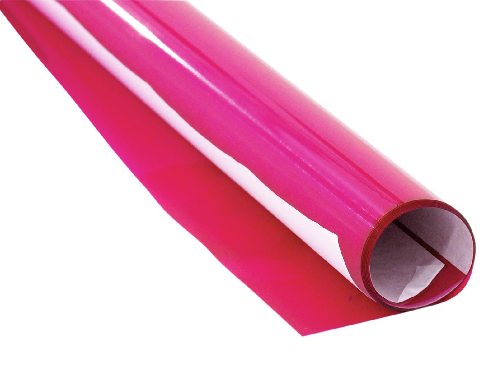 Gelatina Rotolo Filtro Per Tubo neon 128 61x50cm rosa brillante Eurolite