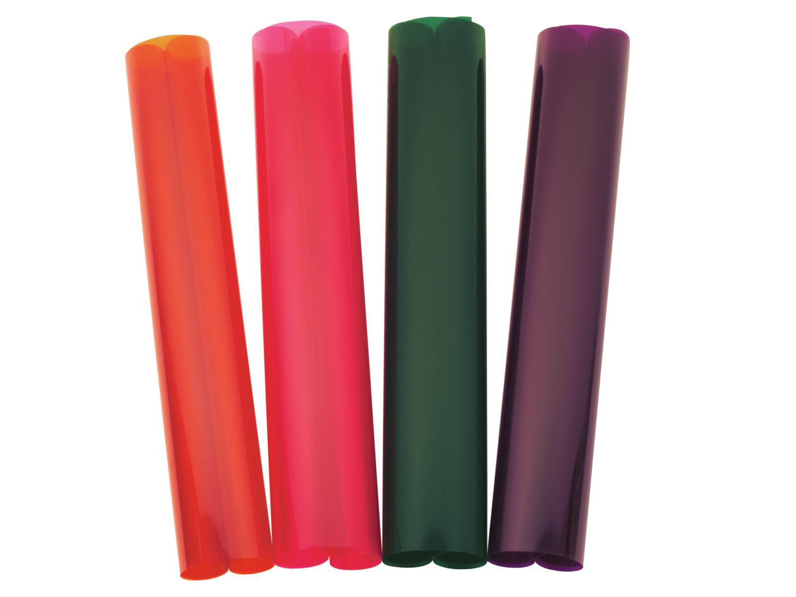 Gelatina Rotolo Filtro Per Tubo neon 156 61x50cm cioccolato Eurolite