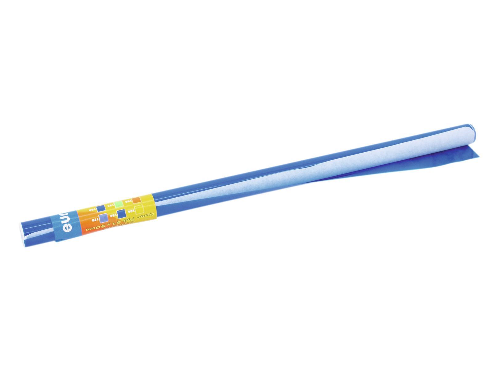 Gelatina Rotolo Filtro Per Tubo neon 161 61x50cm blu ardesia Eurolite