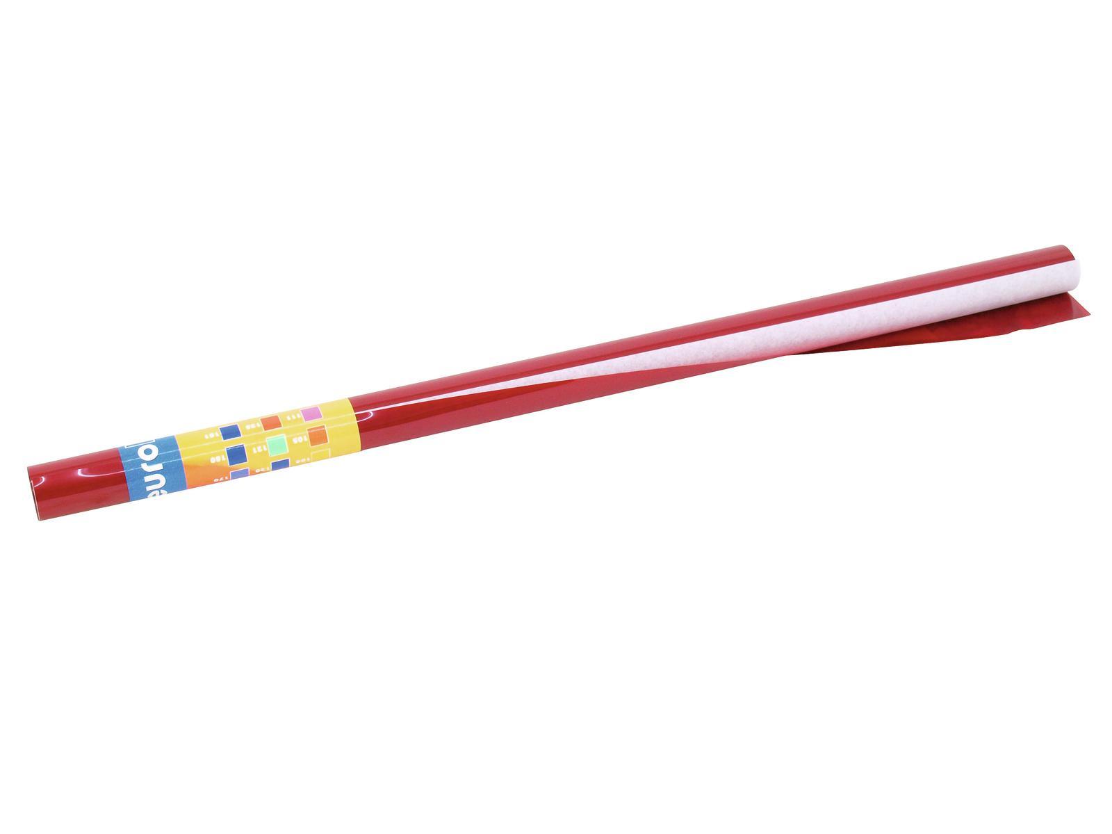 Gelatina Rotolo Filtro Per Tubo neon 182 61x50cm rosso chiaro Eurolite
