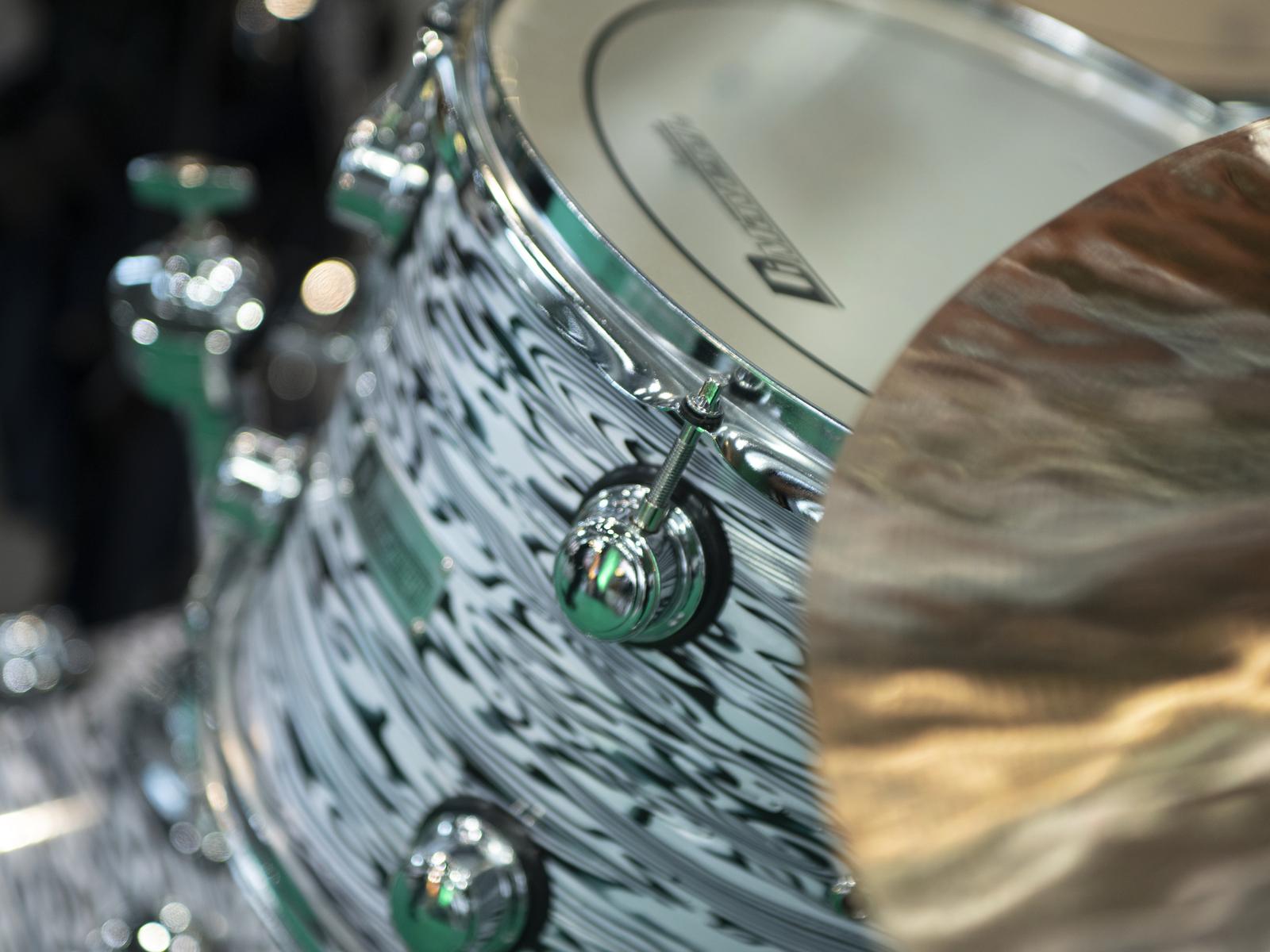 DIMAVERY DS-312 Fusion Schlagzeug-Set, oyster