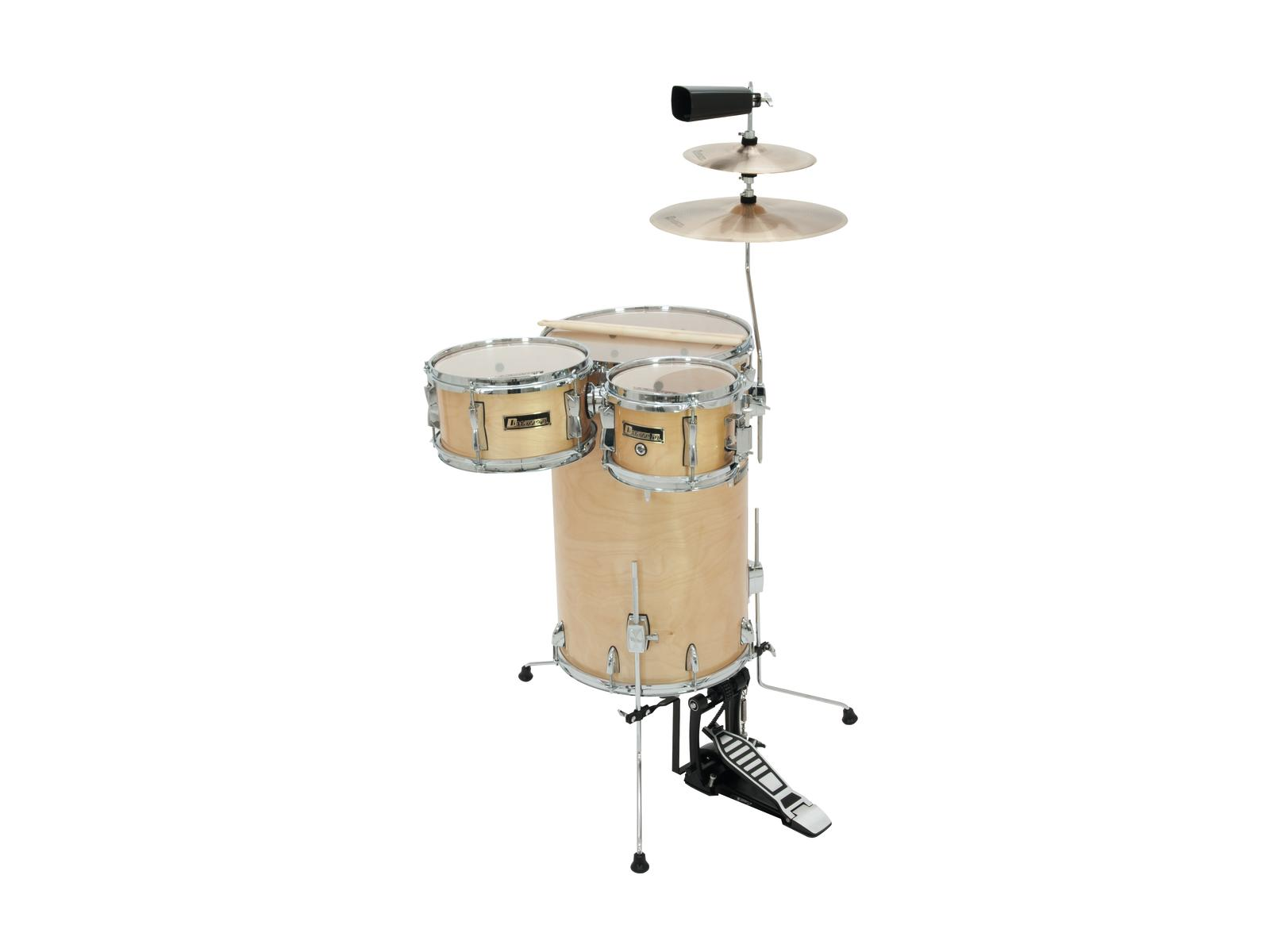 Batteria acustica, percussioni set Cocktail, 5 pezzi, acero DIMAVERY CD