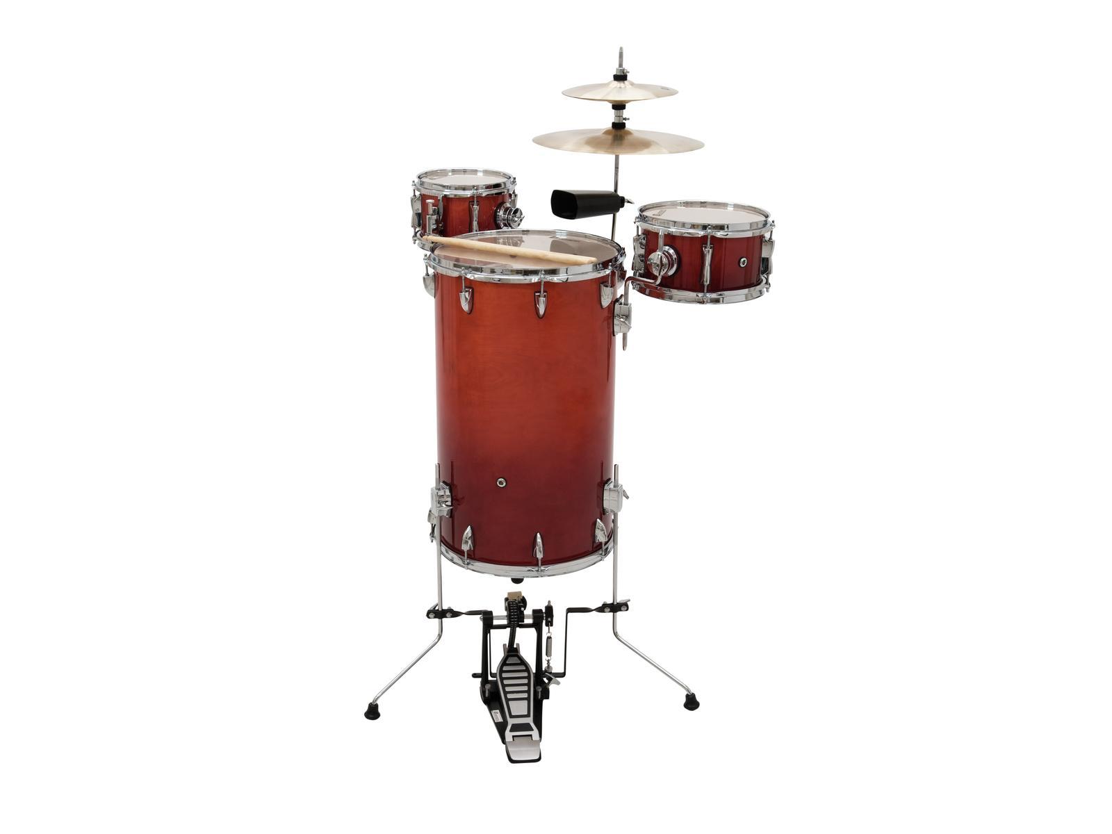 DIMAVERY CD Cocktail Drum set, orangeburst