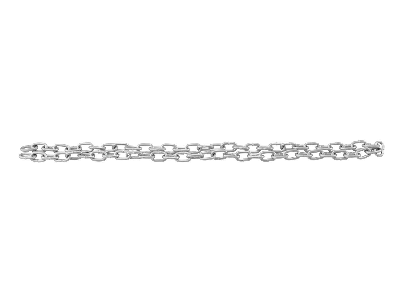 EUROLITE catena di Collegamento 4mm, PORTATA 80kg, 33cm