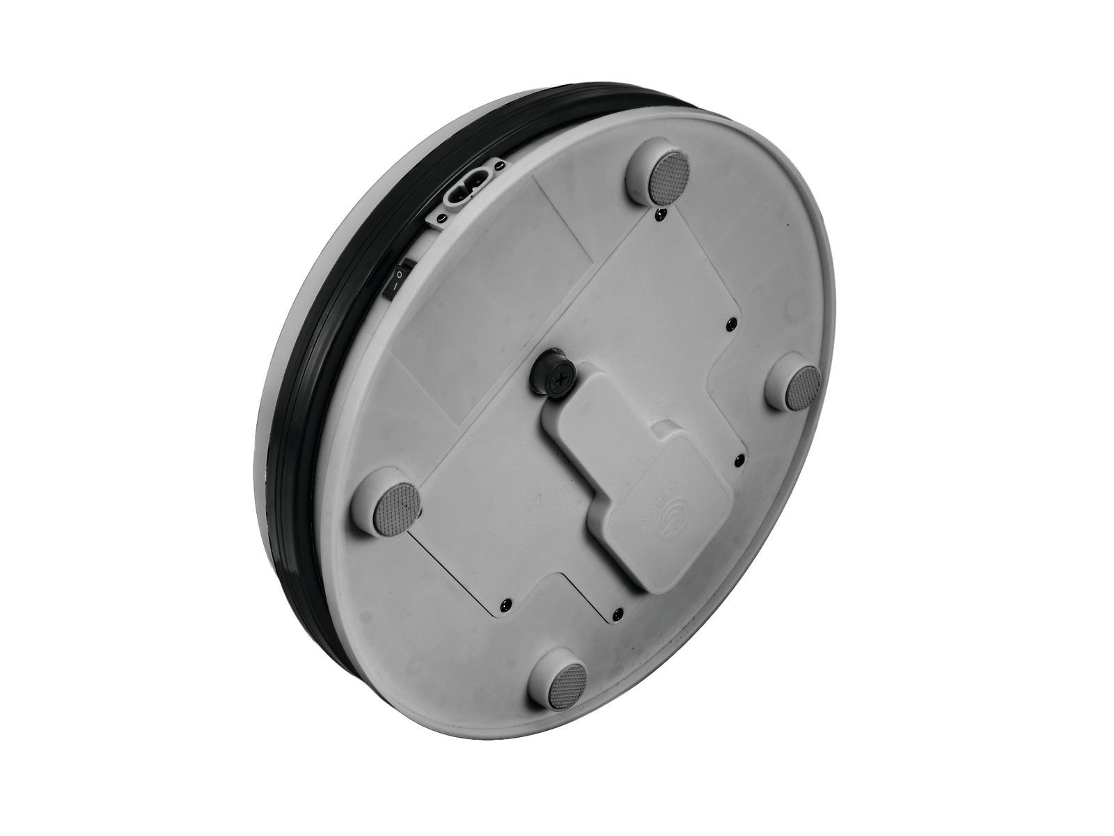 Base con piastra girevole argento 25 cm fino a 15 kg EUROPALMS