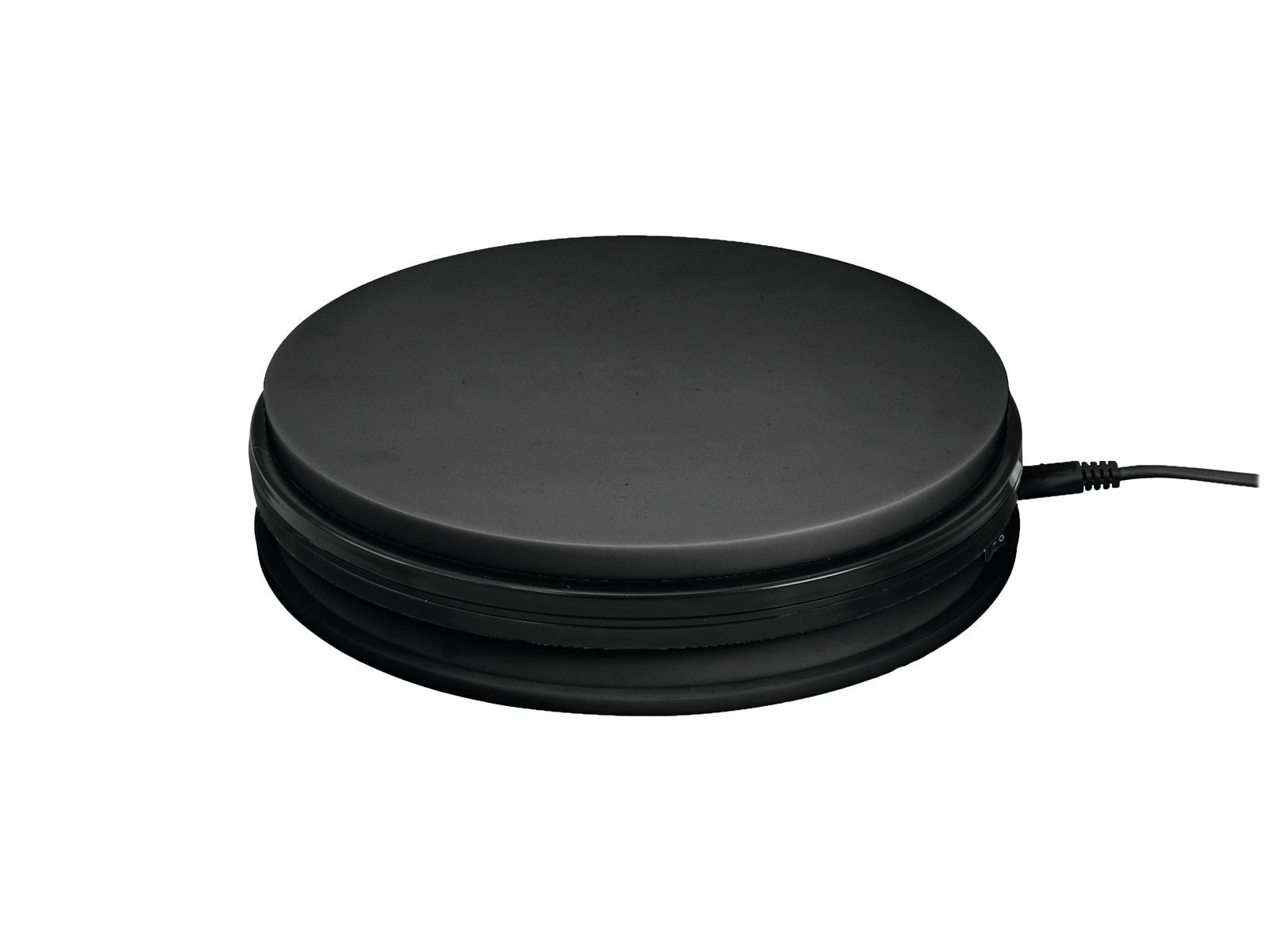 EUROPALMS Drehteller 45cm bis 50kg schwarz