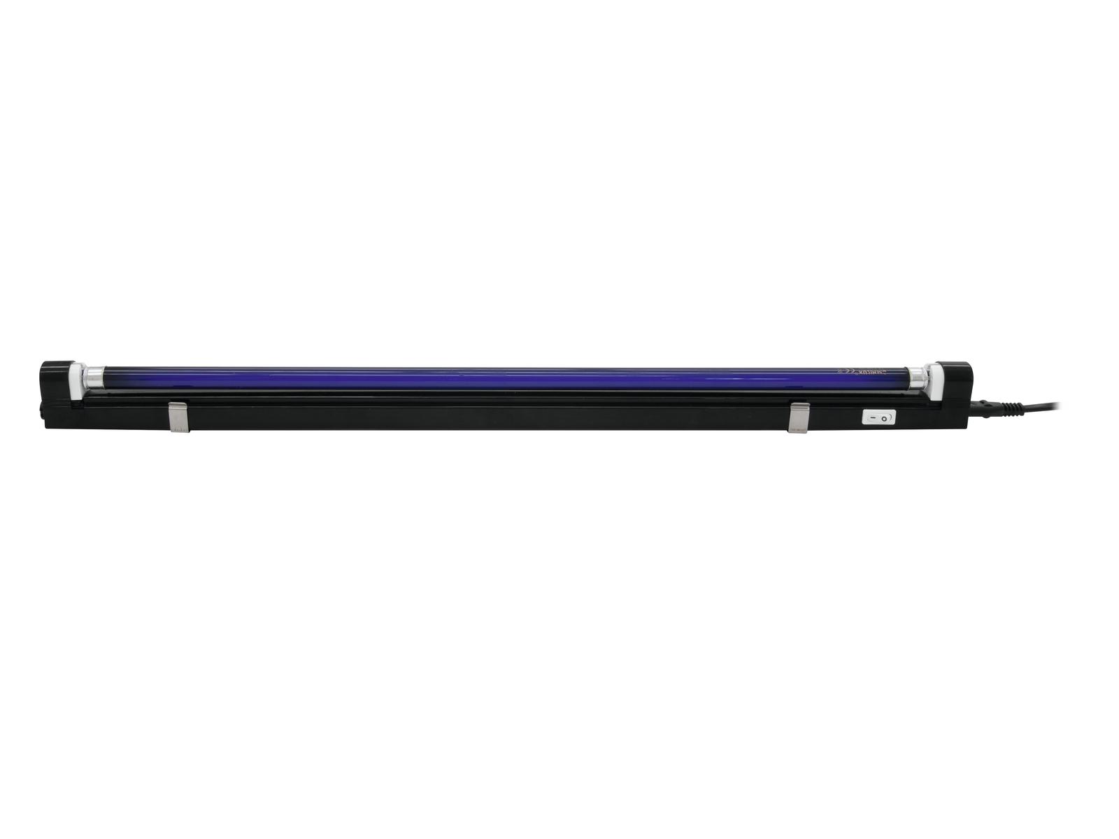 EUROLITE UV tubo completo fixt.60cm 13W ultra slim