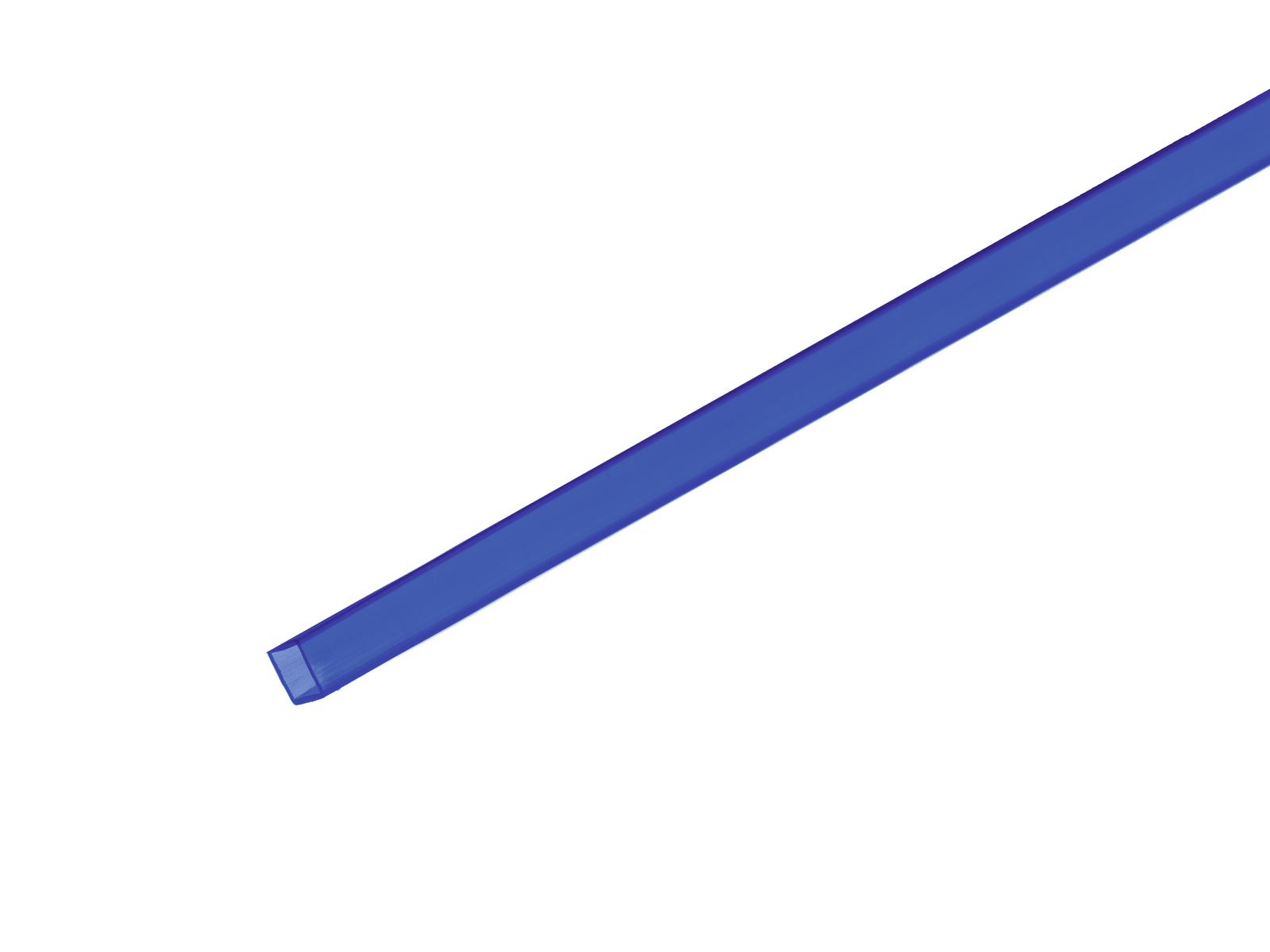 EUROLITE Tubo 10x10mm blu 2m