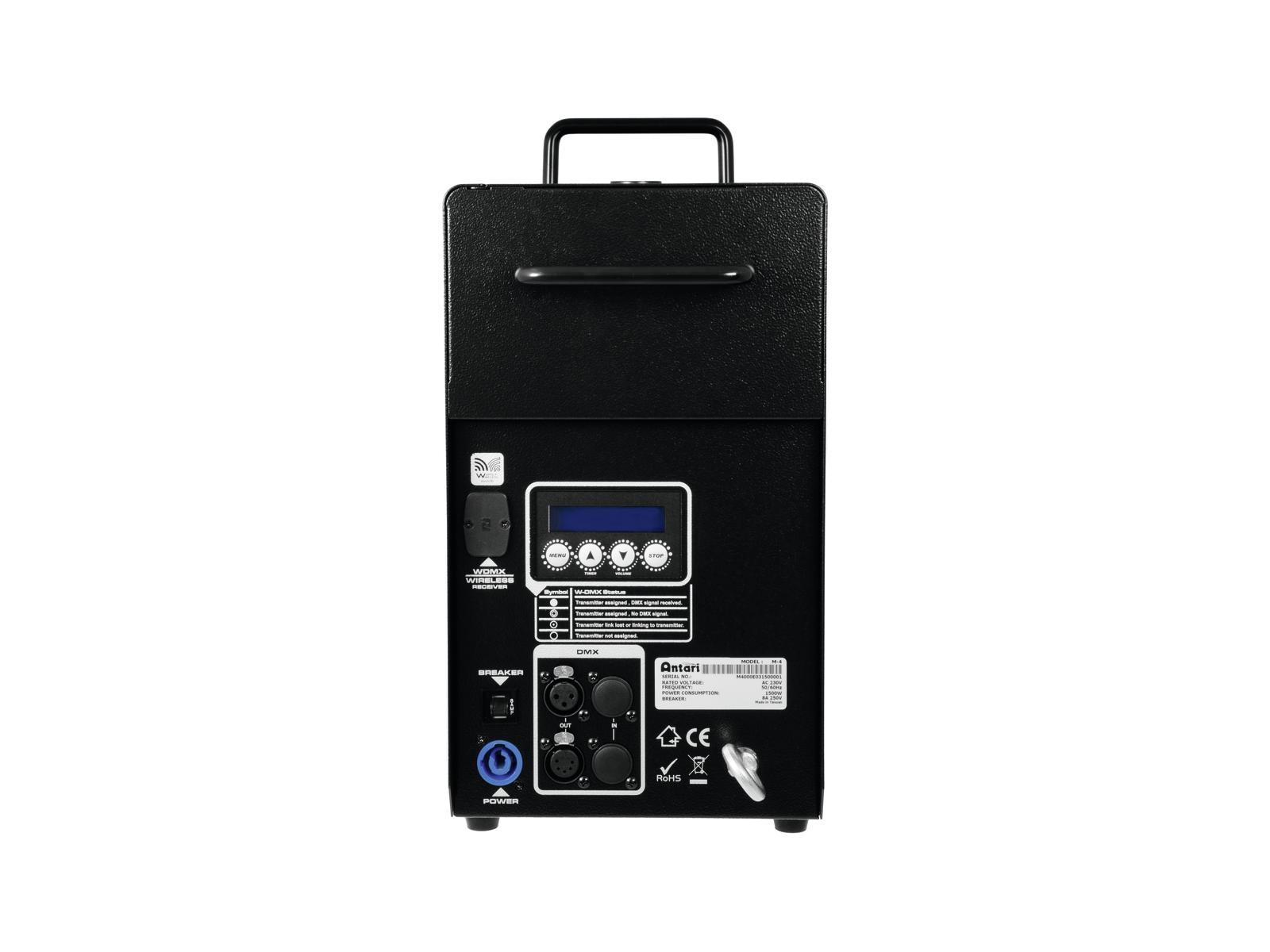 Macchina del fumo-nebbia alte prestazioni 1500 W wireless DMX ANTARI M-4