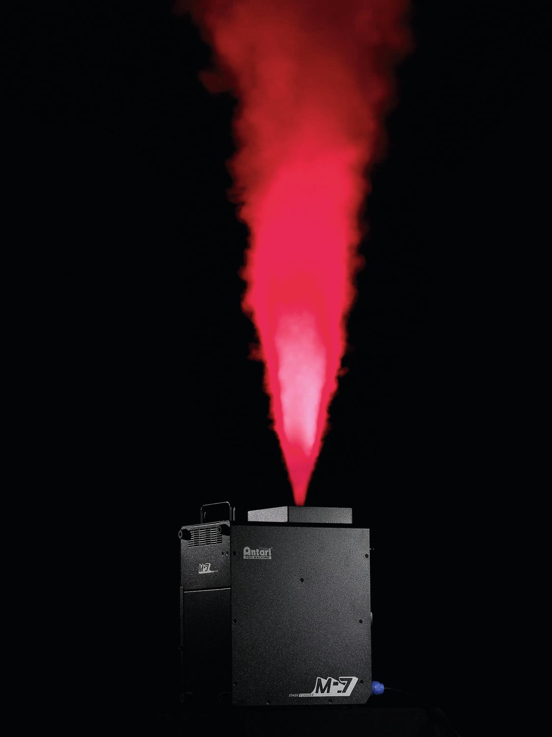 Macchina del fumo-nebbia alte prestazioni 1500 W, Wireless, DMX ANTARI M-7E