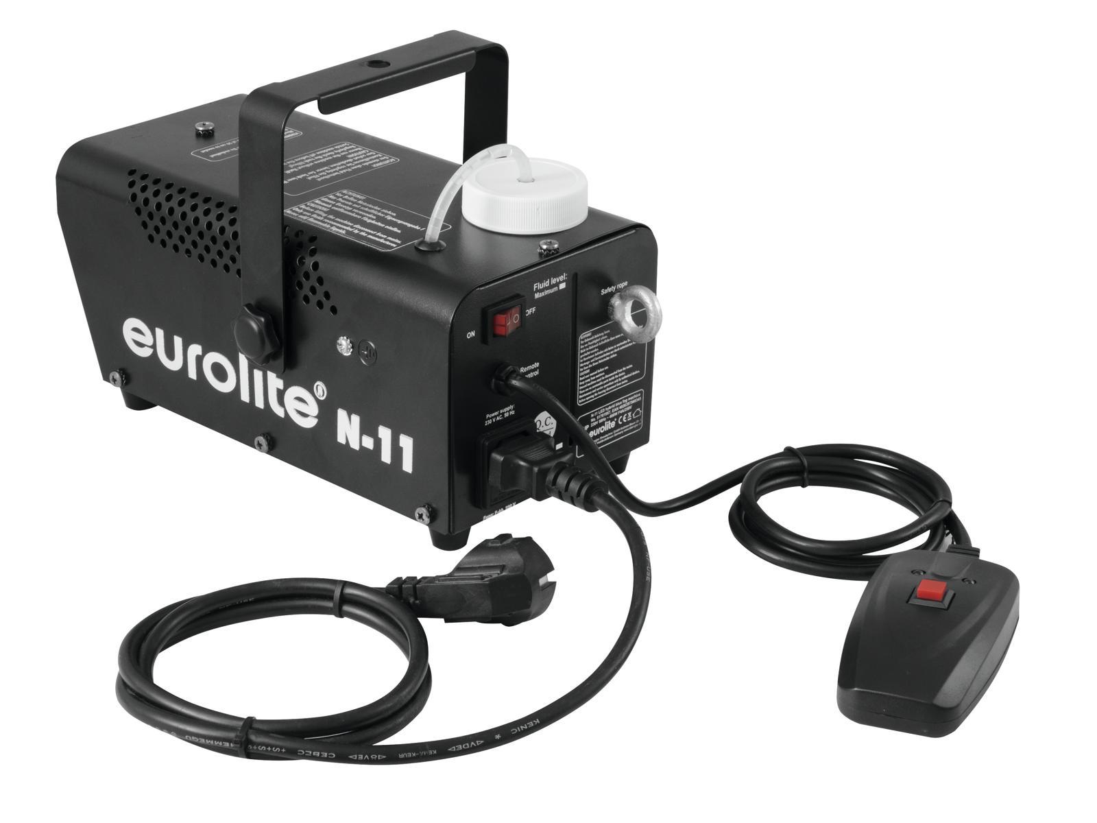 Macchina del fumo-nebbia LED blu Hybrid EUROLITE N-11
