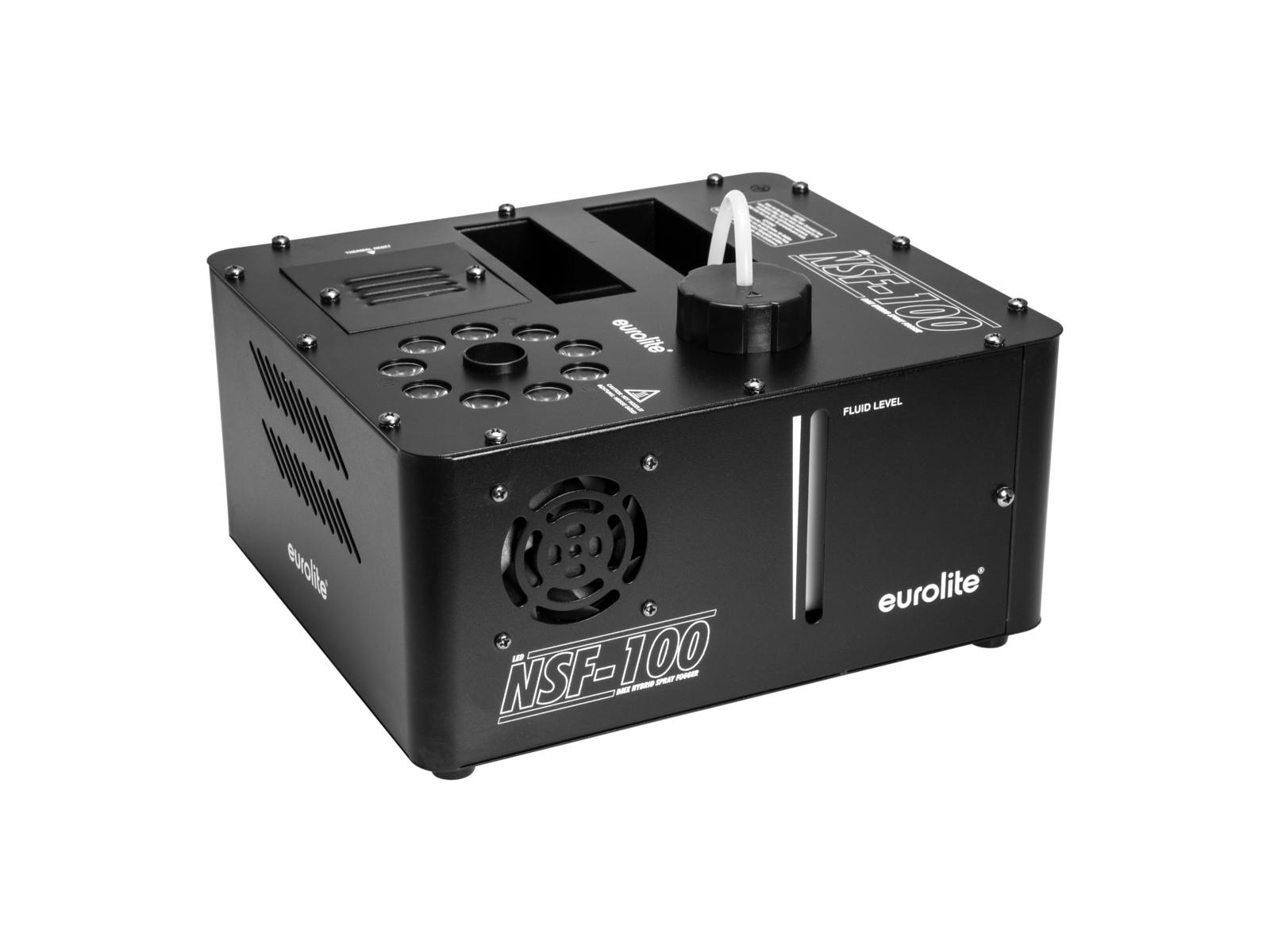 EUROLITE NSF-100 LED DMX Ibrido Spray Fogger