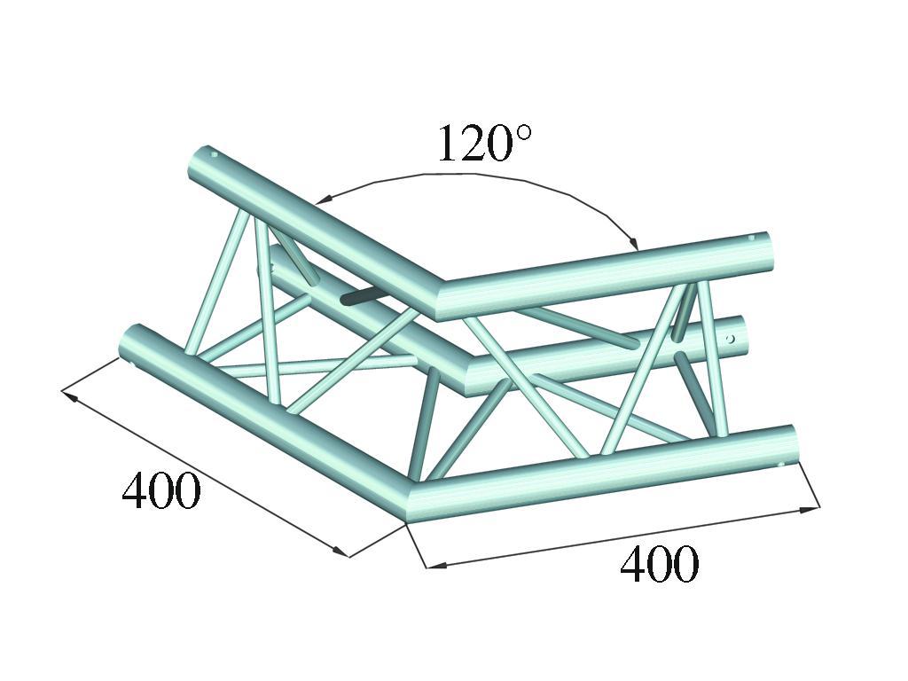 ALUTRUSS DECOLOCK DQ3-PAC22 2-angolo 120°