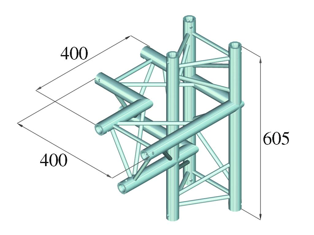 ALUTRUSS DECOLOCK DQ3-PAC44 4-angolo a sinistra
