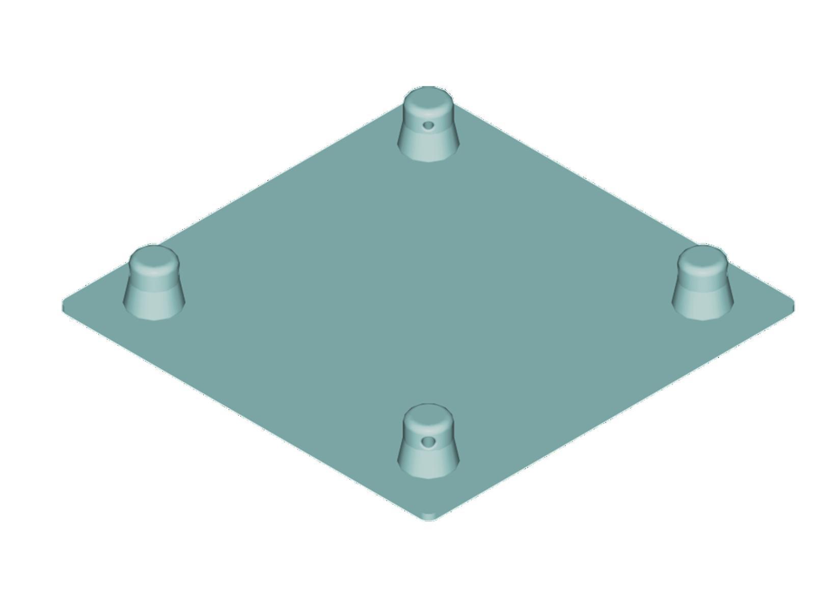 ALUTRUSS DECOLOCK DQ4-BPM piastra di base MASCHILE