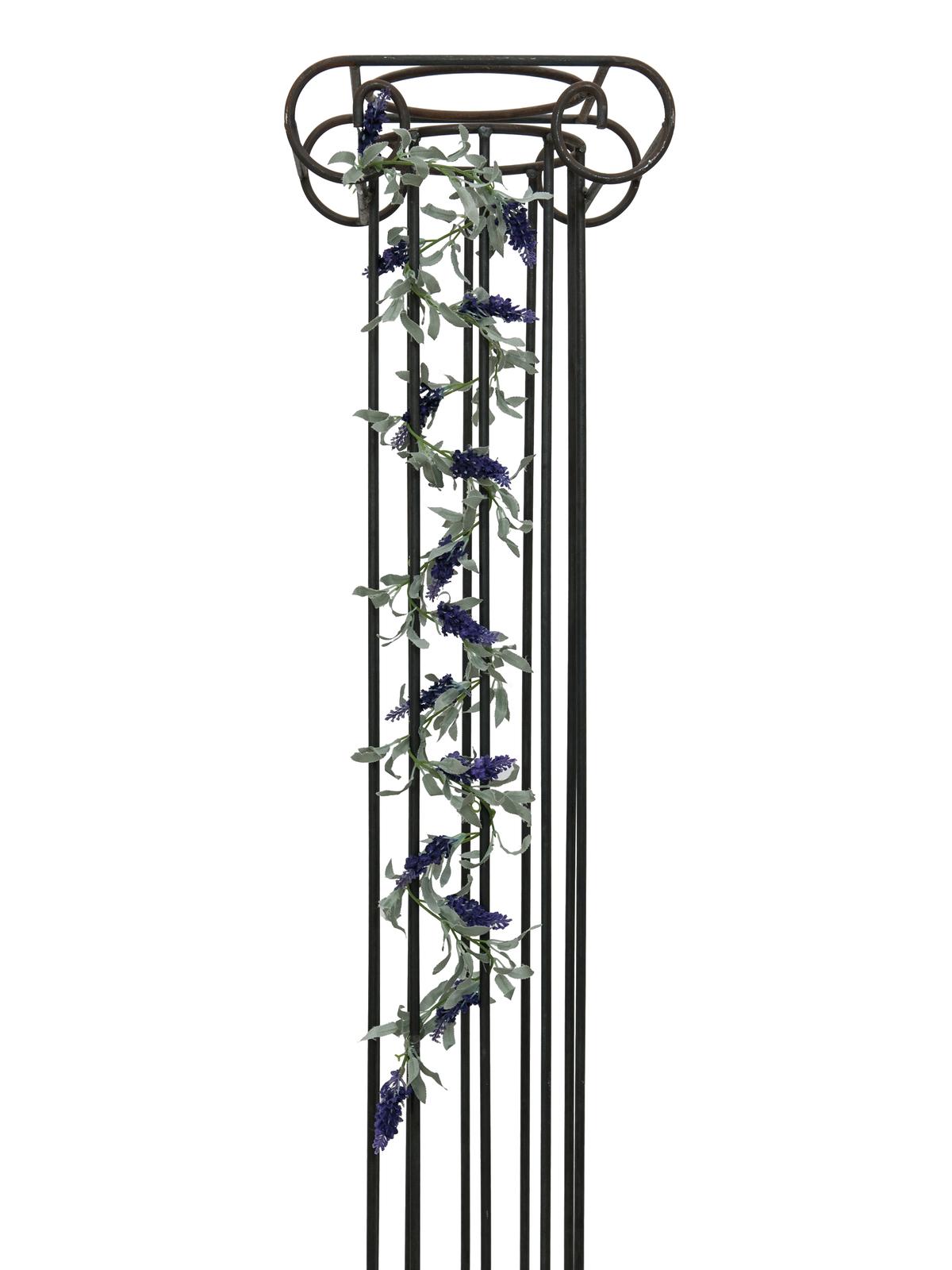 EUROPALMS Blütengirlande, künstlich, violett, 180cm