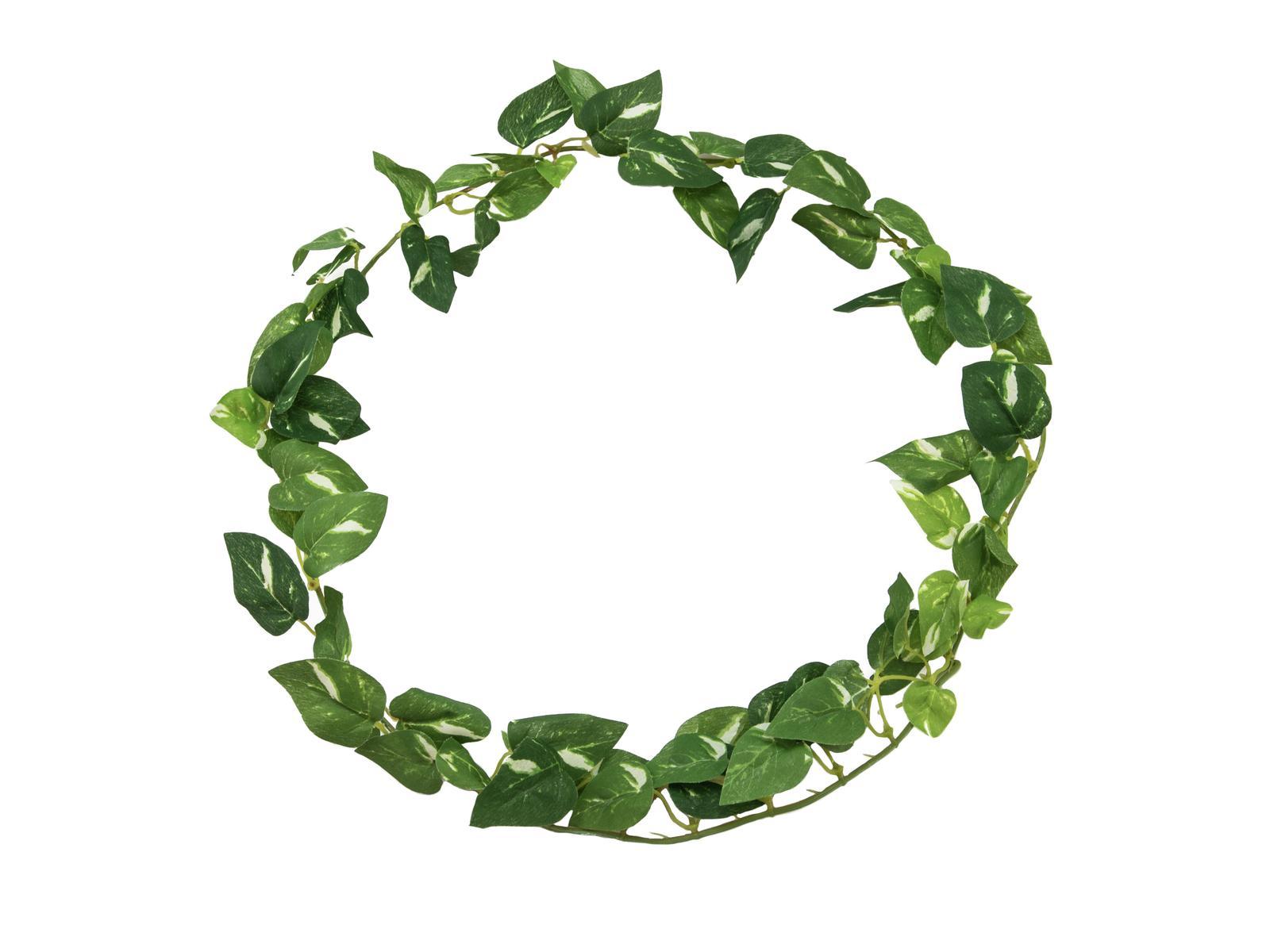 EUROPALMS pianta artificiale ghirlanda d' edera pothos , 100 cm