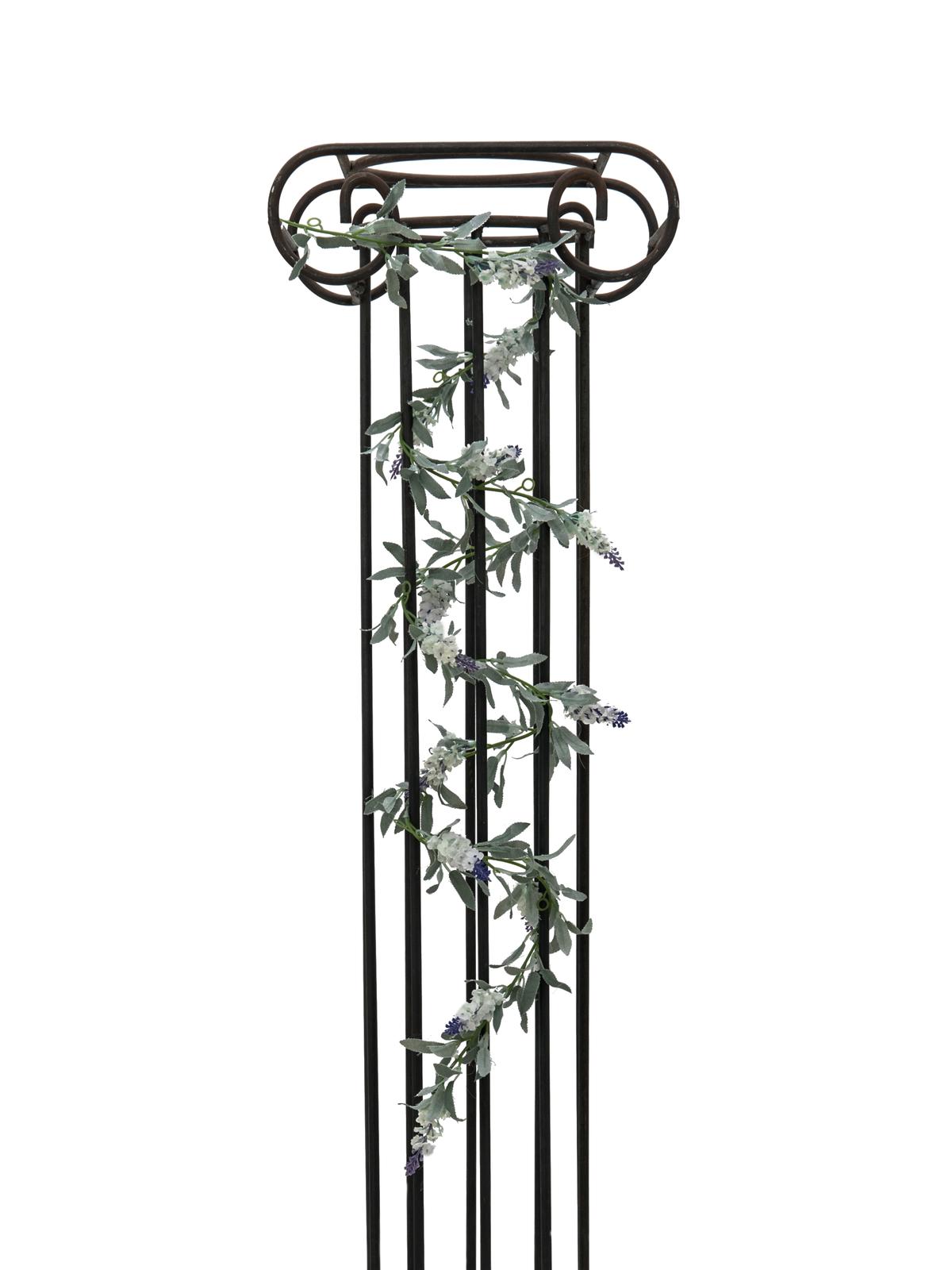 EUROPALMS Blütengirlande, künstlich, weiß,  180cm