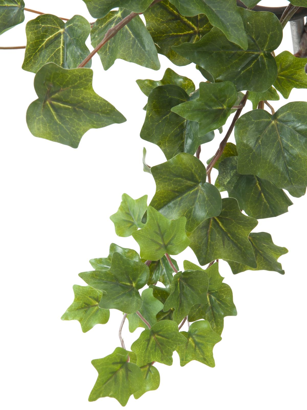 EUROPALMS pianta artificiale Ghirlanda di edera  verde 45cm