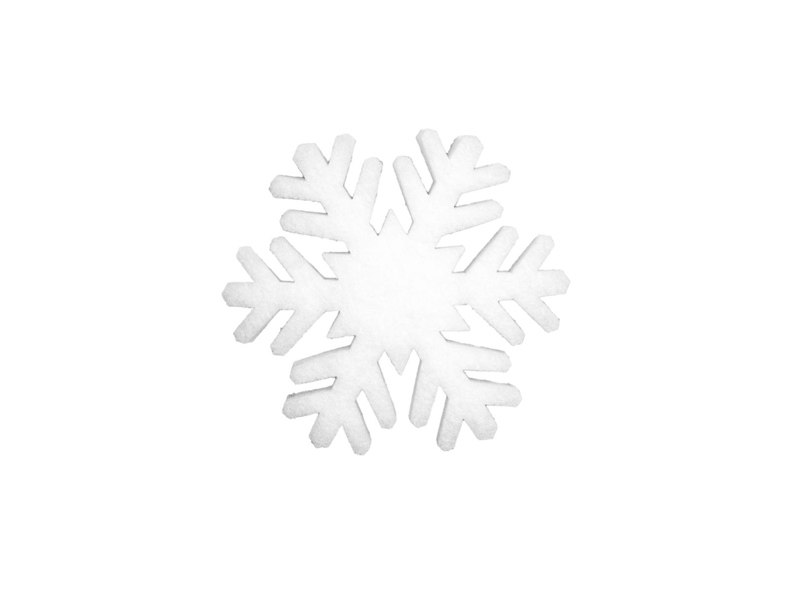 EUROPALMS Fiocco di neve stuoia, 29cm, fiamma retardent