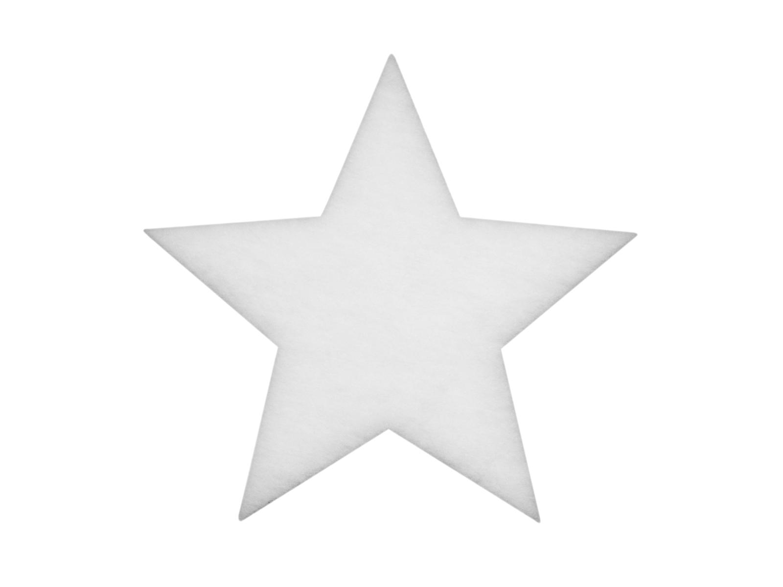 EUROPALMS Stern aus Schneematte, 41cm,  schwer entflammbar B1