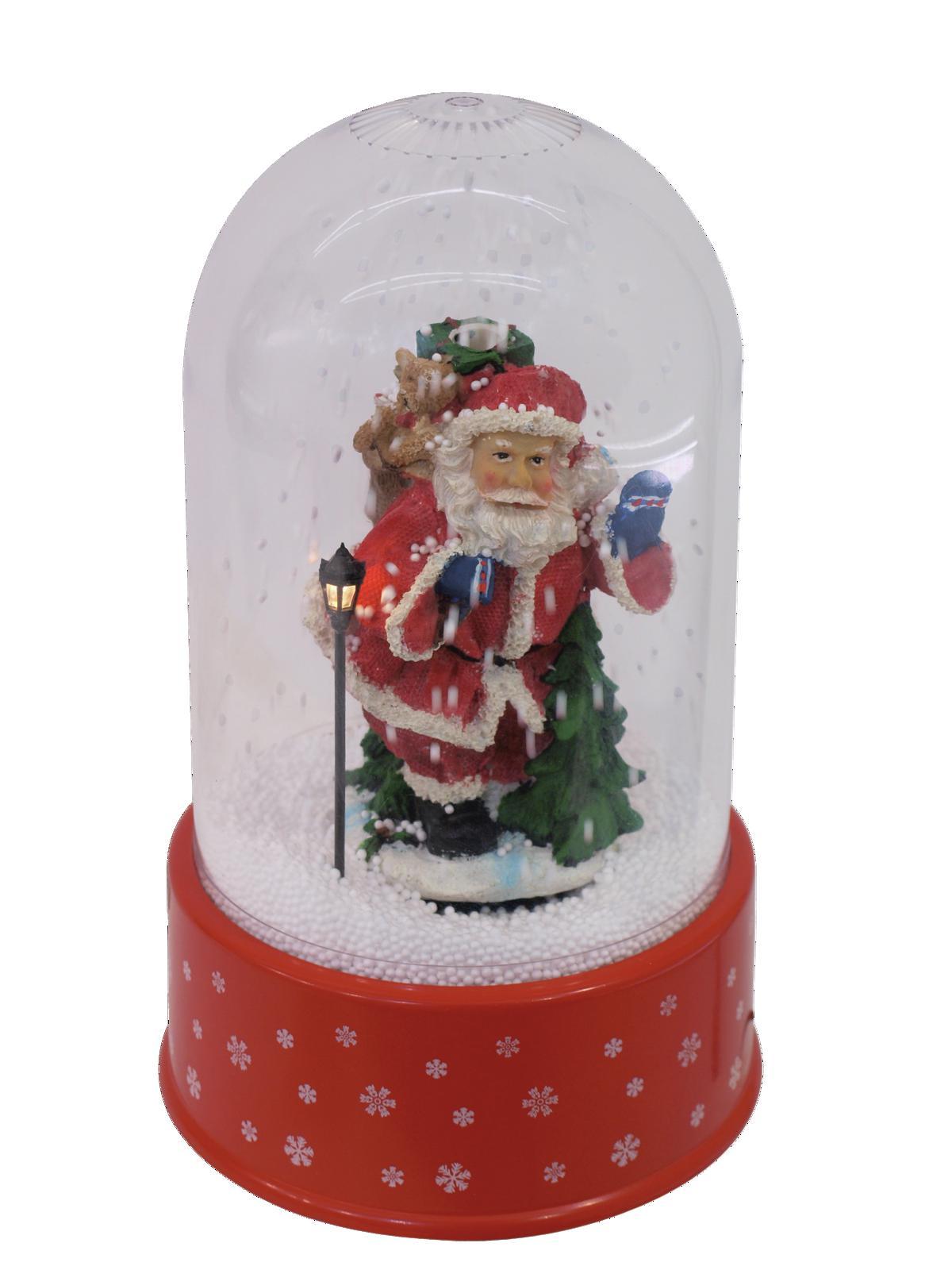 EUROPALMS di Neve, Babbo Natale