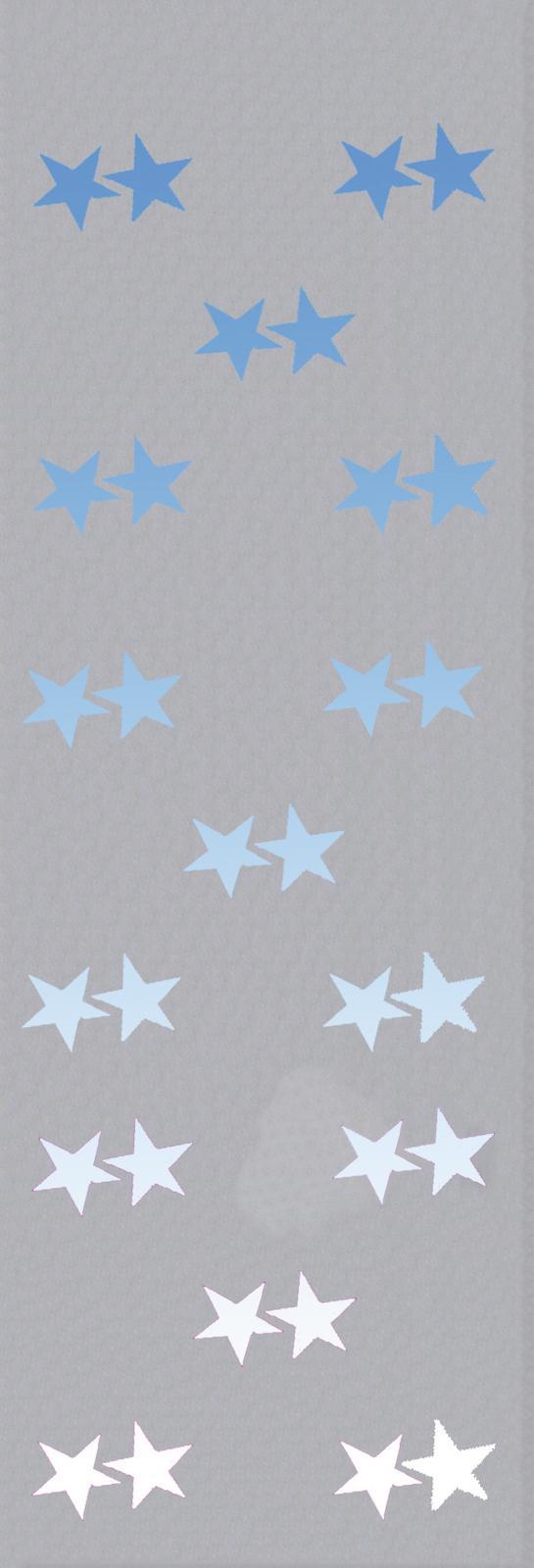 EUROPALMS Pile banner, Star B1, 100x350cm
