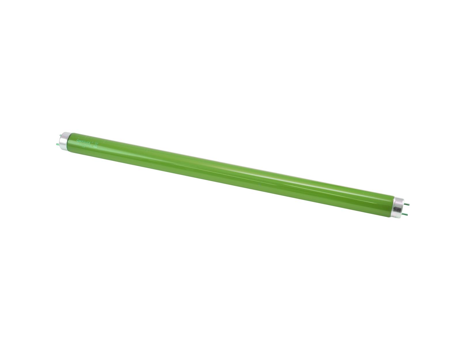 OMNILUX Tubo 15W G13 450x26mm verde glas