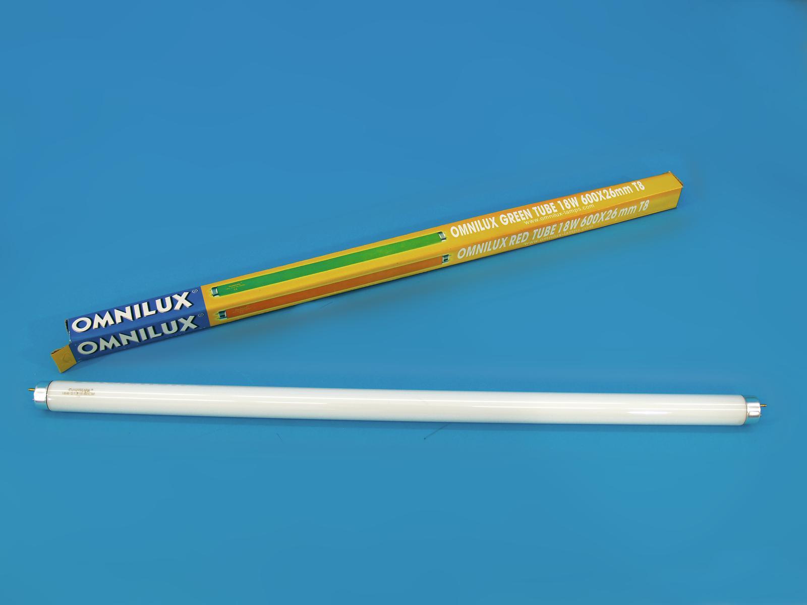 OMNILUX Tubo 18W G13 600x26mm T8 blu
