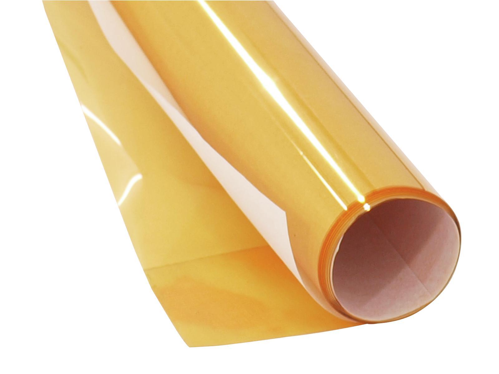 Gelatina Rotolo Filtro Per Tubo neon 61x50cm oro Eurolite