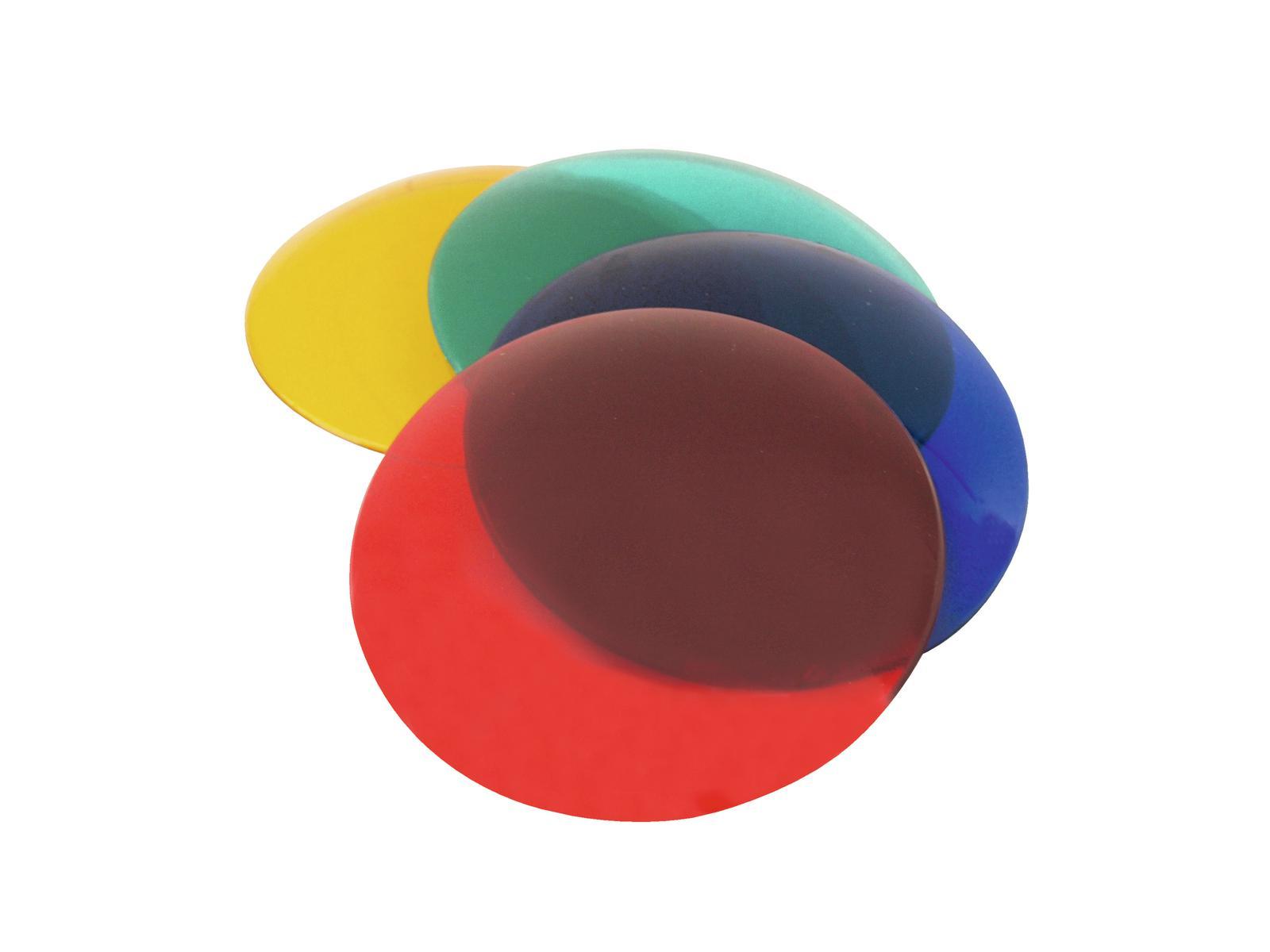 EUROLITE Colore set di tappi per PAR-36, 4 colori
