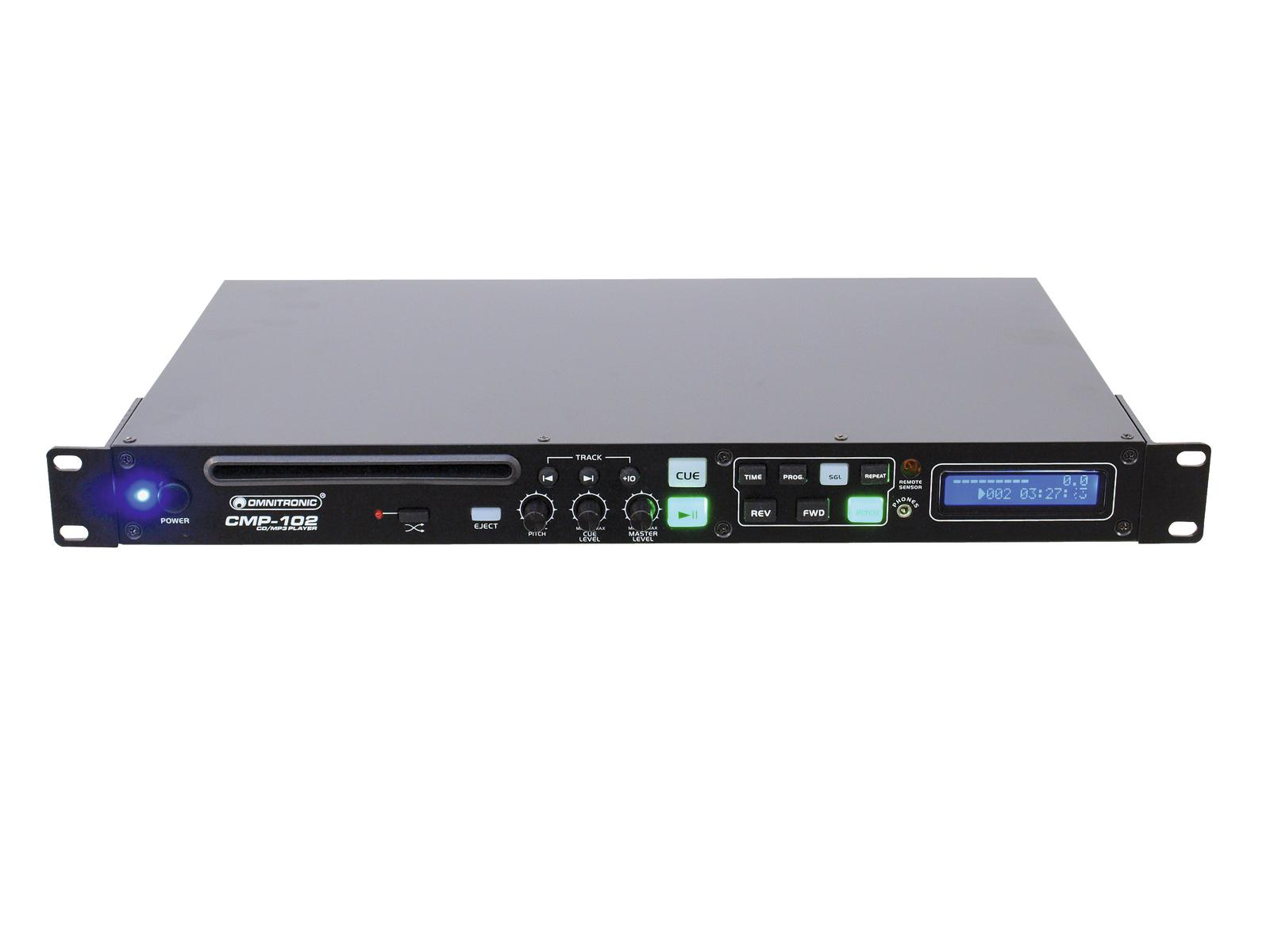 OMNITRONIC CMP-102 CD/lettore MP3