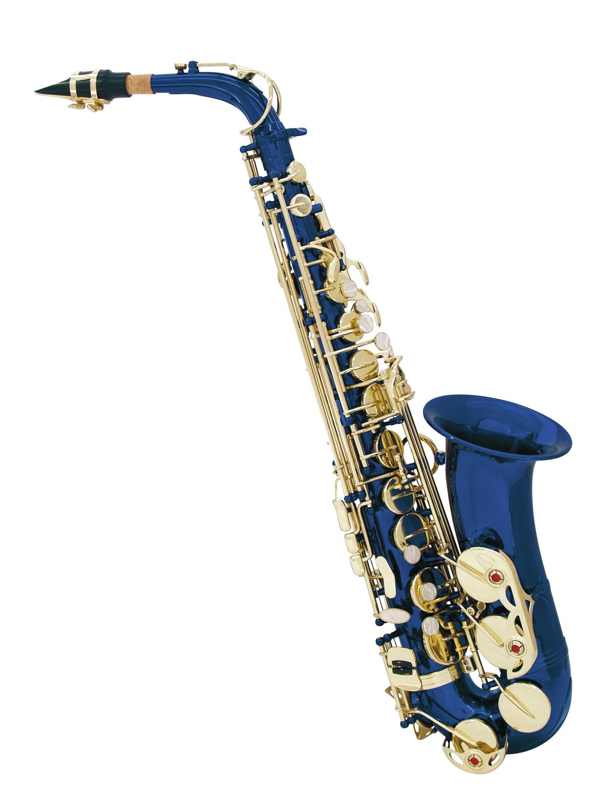 DIMAVERY SP-30 Eb Altsaxophon, blau