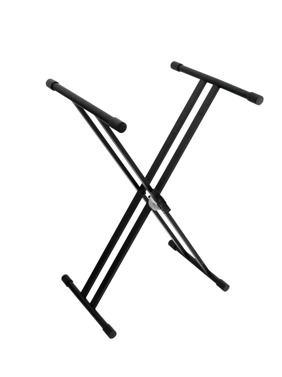 DIMAVERY SV-1 Tastiera Stand con Morsetto di bloccaggio