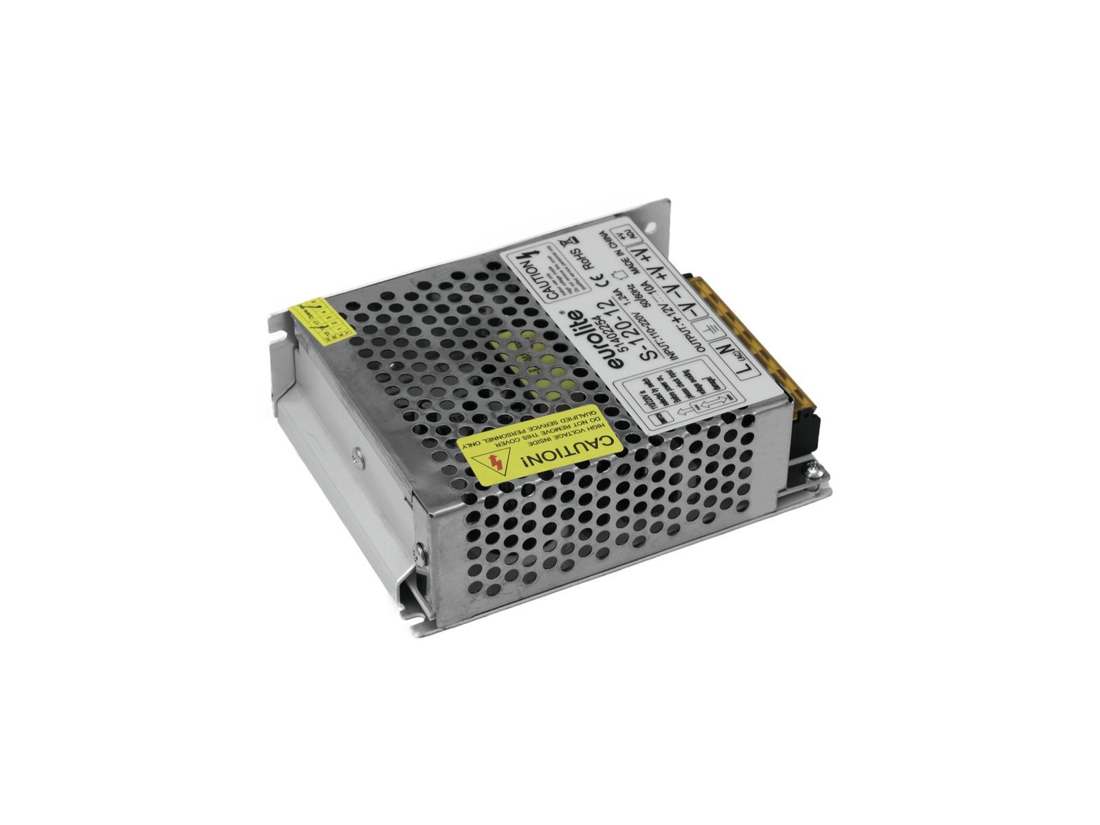 Transformer EUROLITE for LED strips 12V, 10A