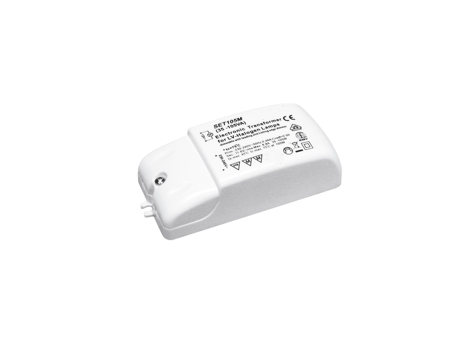 Transformer EUROLITE for low-voltage halogen lamps 12V/ 35-105VA