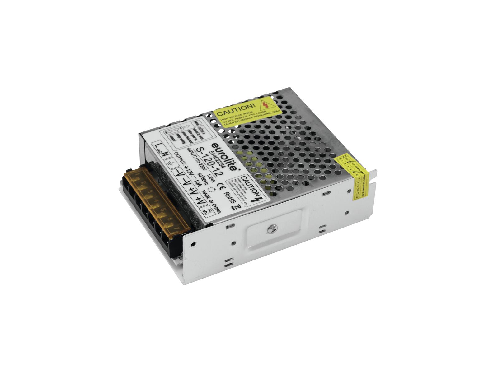 EUROLITE Elektronischer Trafo, 12V, 16,5A