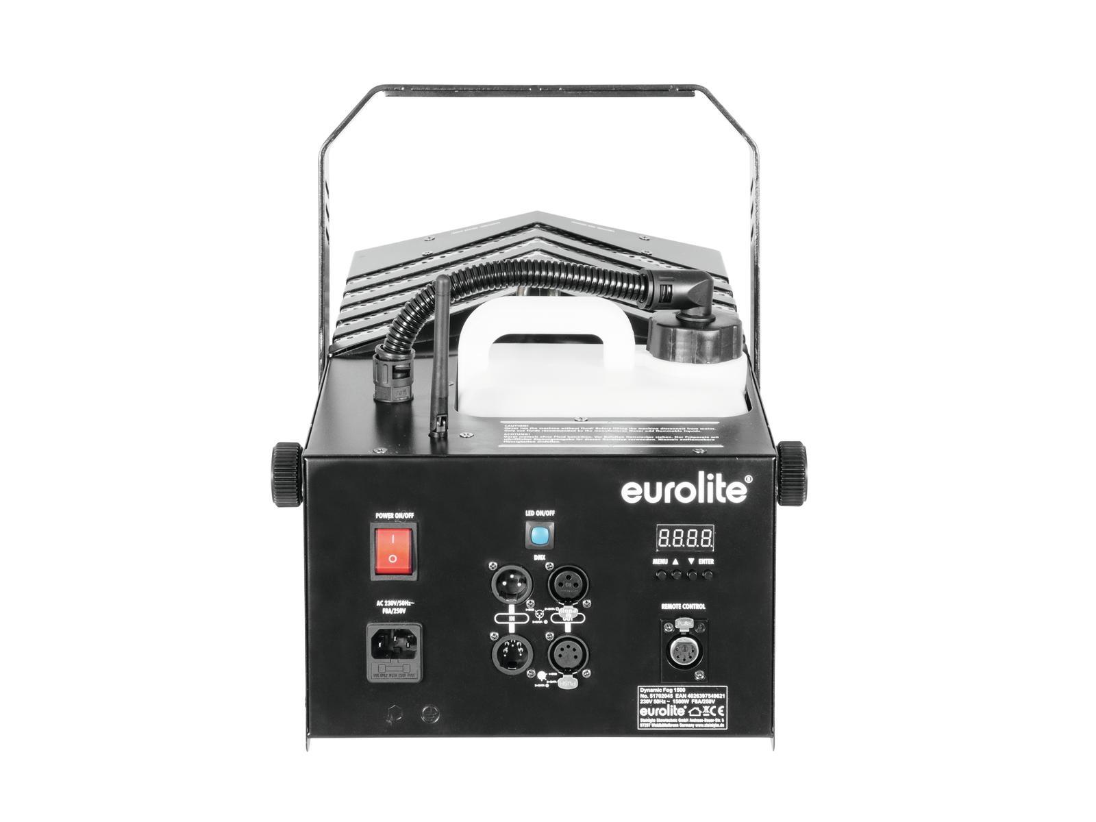 Macchina de fumo-nebbia ,uscita regolabile 1500 W EUROLITE Dynamic