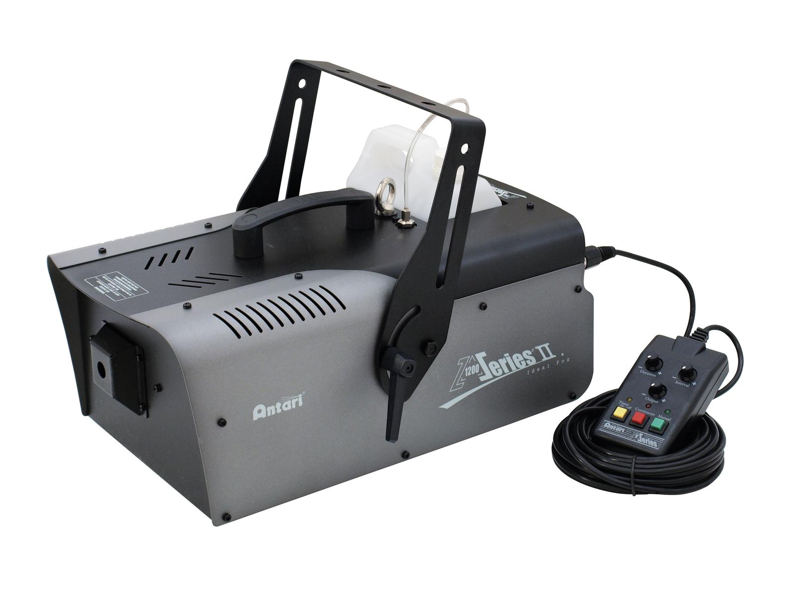 Macchina del fumo 1200 W interfaccia dmx timer e controller, ANTARI Z-1200 MK2