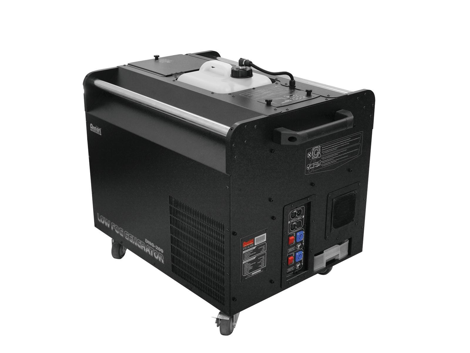 Generatore di nebbia bassa professionale, interfaccia DMX, ANTARI DNG-200